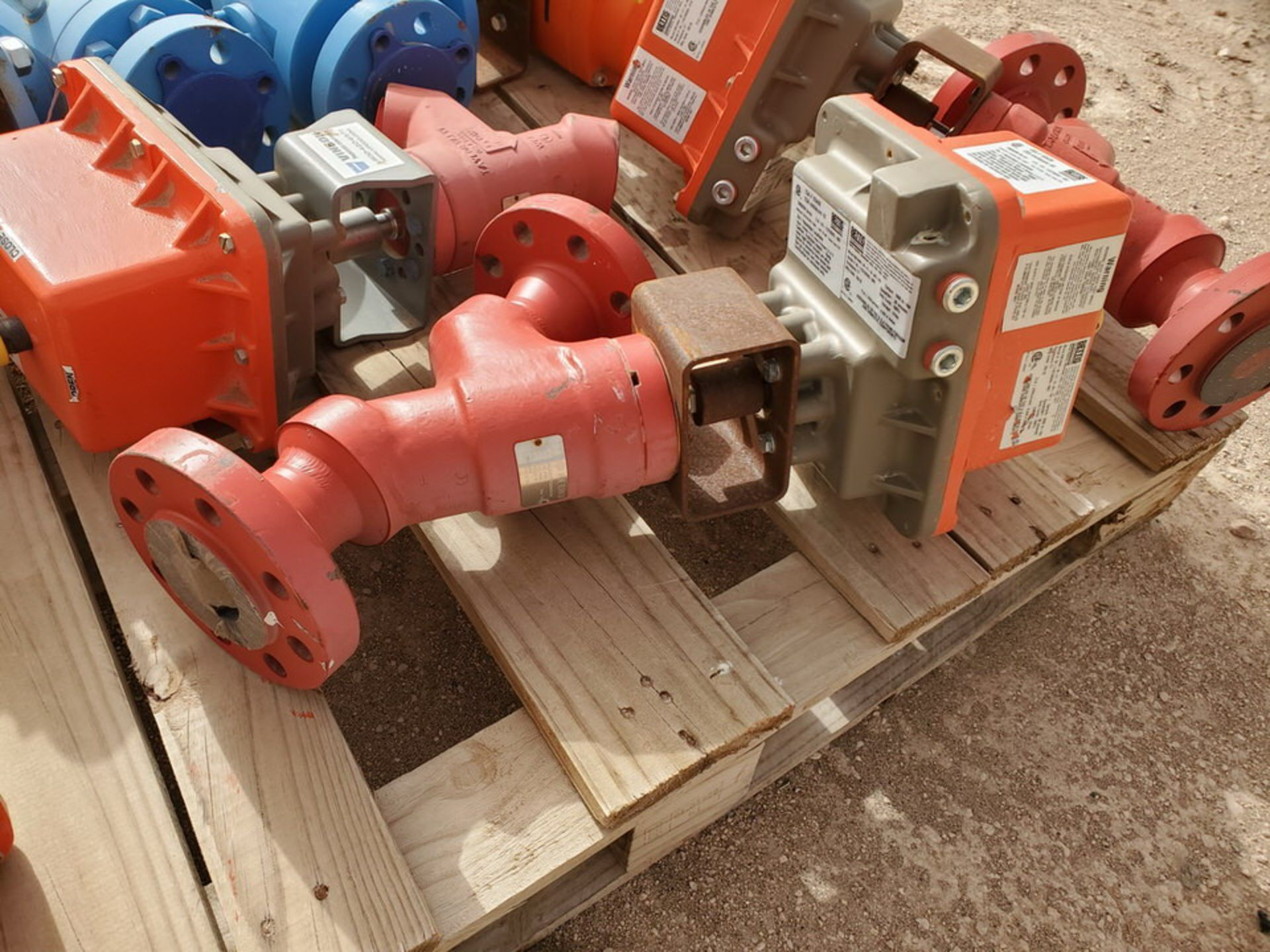 """GWC Assorted Actuated Valves (2) 2"""" x 2"""" 600# Ball Valves W/ Bettis Actuators; W/ (4) Taylor 2"""" 600# - Image 5 of 9"""