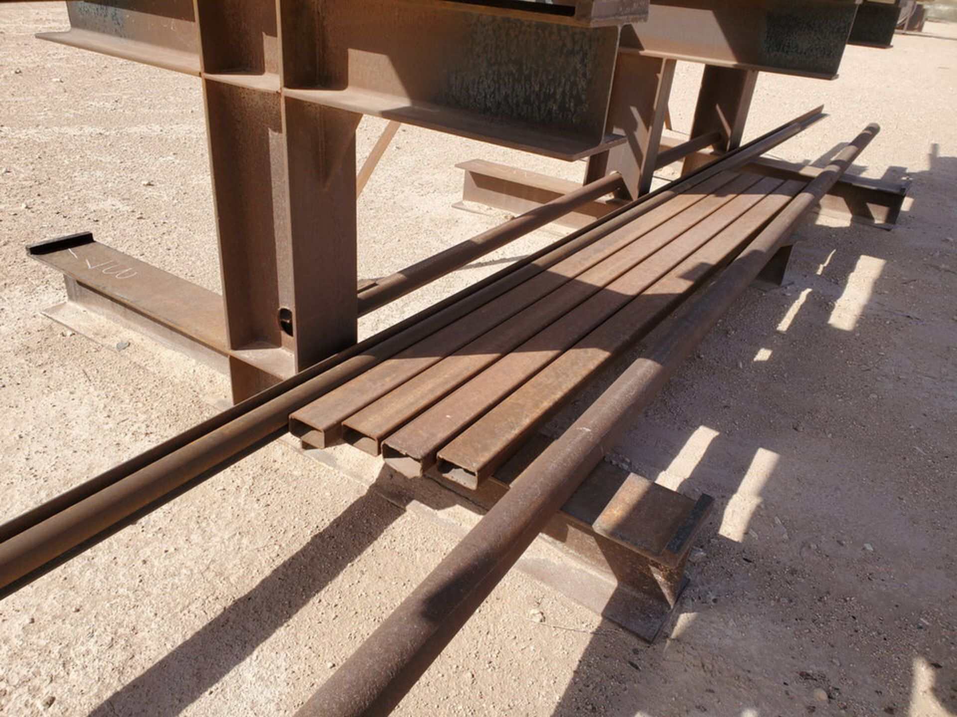 """(65) Angle, Pipe, Rect. Tubing & Other D: 3""""-4"""", L: 10' - 23'6""""; W/ Racks - Image 17 of 19"""
