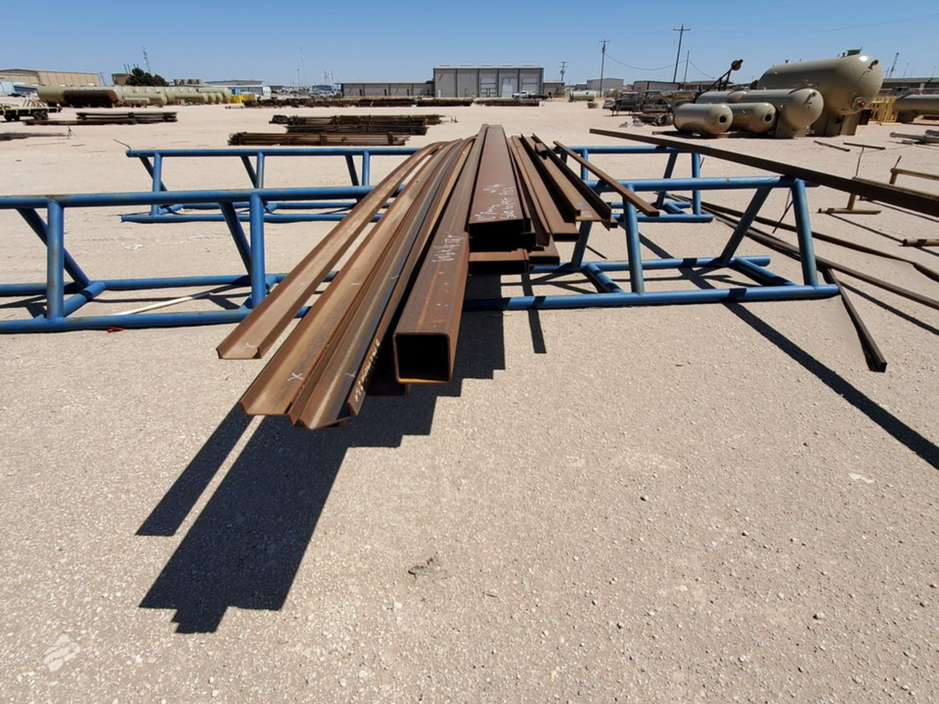 "Assorted Matl. To Include But Not Limited To: Angle, Channel, Sq. Tubing, Rect. Tubing, etc., 6"" - - Image 12 of 16"