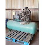 Dayton Air Compressor 208-230/460V, 1750RPM, W/ 5HP Baldor Motor, 3PH, 60HZ, 184T