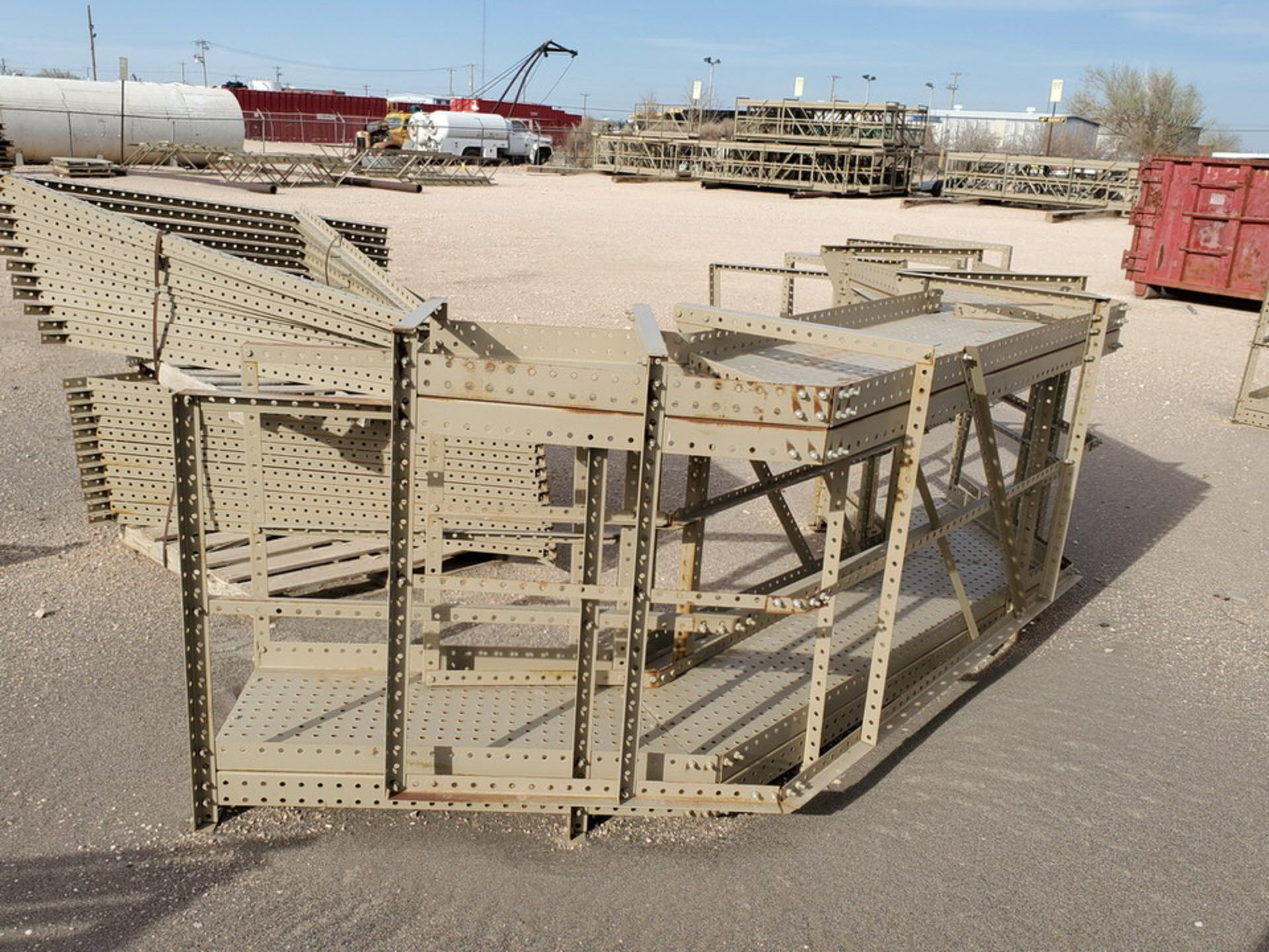 Disassembled Catwalk Sections - Image 16 of 20