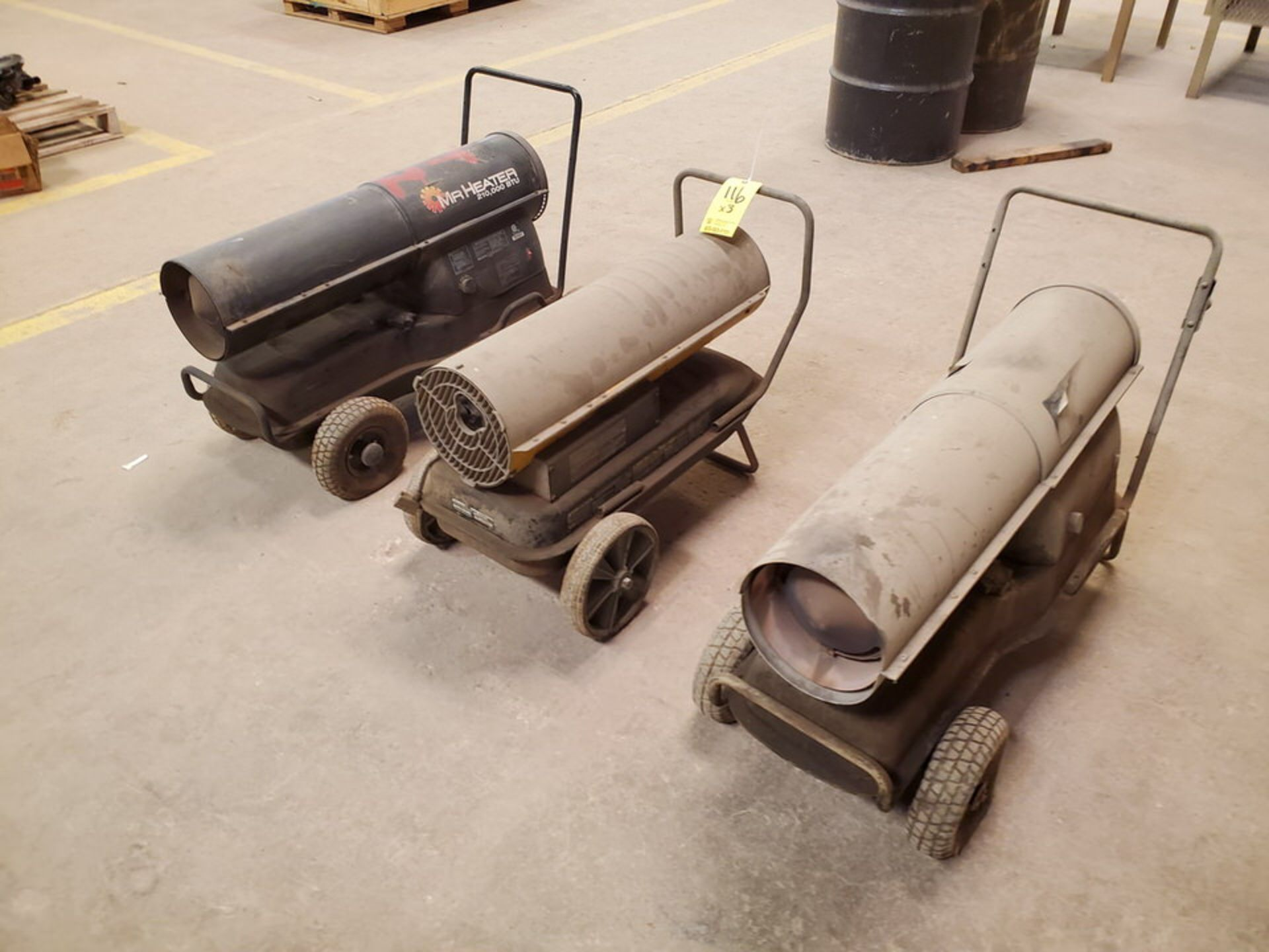 (3) Torpedo Heaters BTU: 175-215K (Mfg- Mr. Heater & etc.) - Image 2 of 5