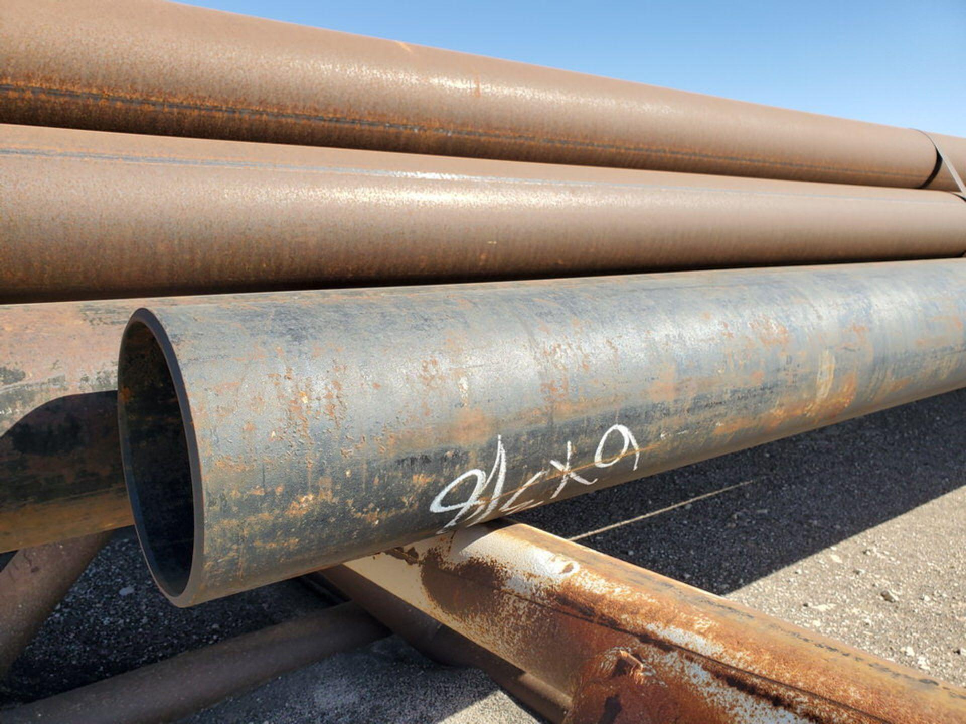 "(40) Pipe 6"" - 12"", 6'1"" - 40'L; W/ Racks - Image 10 of 19"