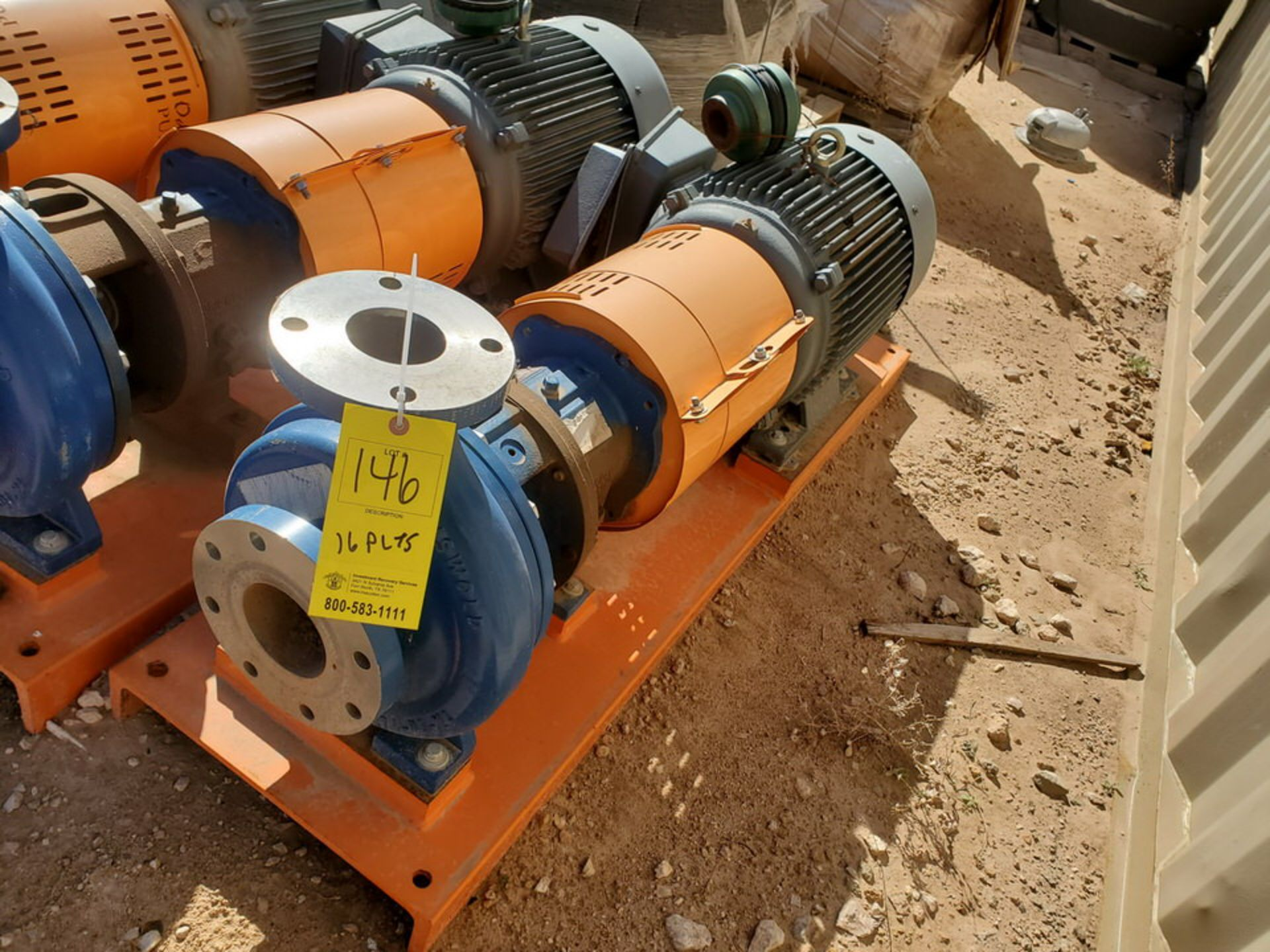 2019 Griswold 811M Centrifugal Pump Size: 4 x 3-10, 7.83 Imp Dia; W/ 50HP Motor - Image 3 of 8