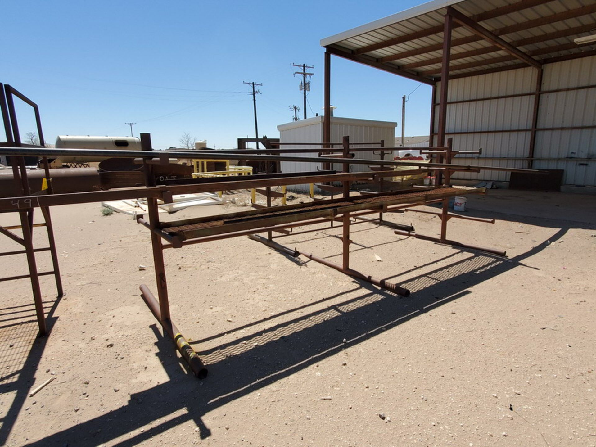 """(3) 3-Post Doublesided Cantilever Racks (2) 10' x 6' x 6'6"""", (1) 17' x 7' x 6'6"""" - Image 10 of 17"""