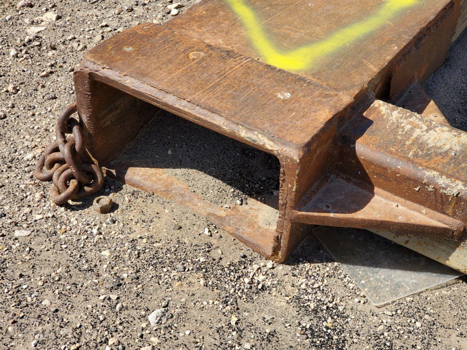 """Forklift Attechment 15'8"""" x 7'11"""", 9-1/2"""" Forks I.D. - Image 5 of 8"""
