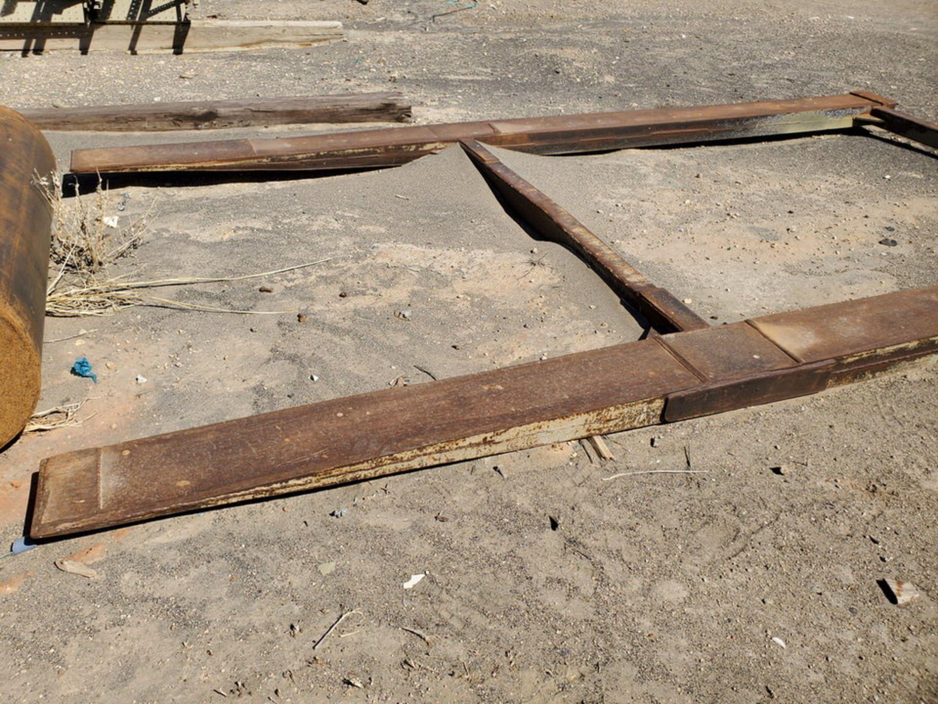 """Forklift Attechment 15'8"""" x 7'11"""", 9-1/2"""" Forks I.D. - Image 6 of 8"""
