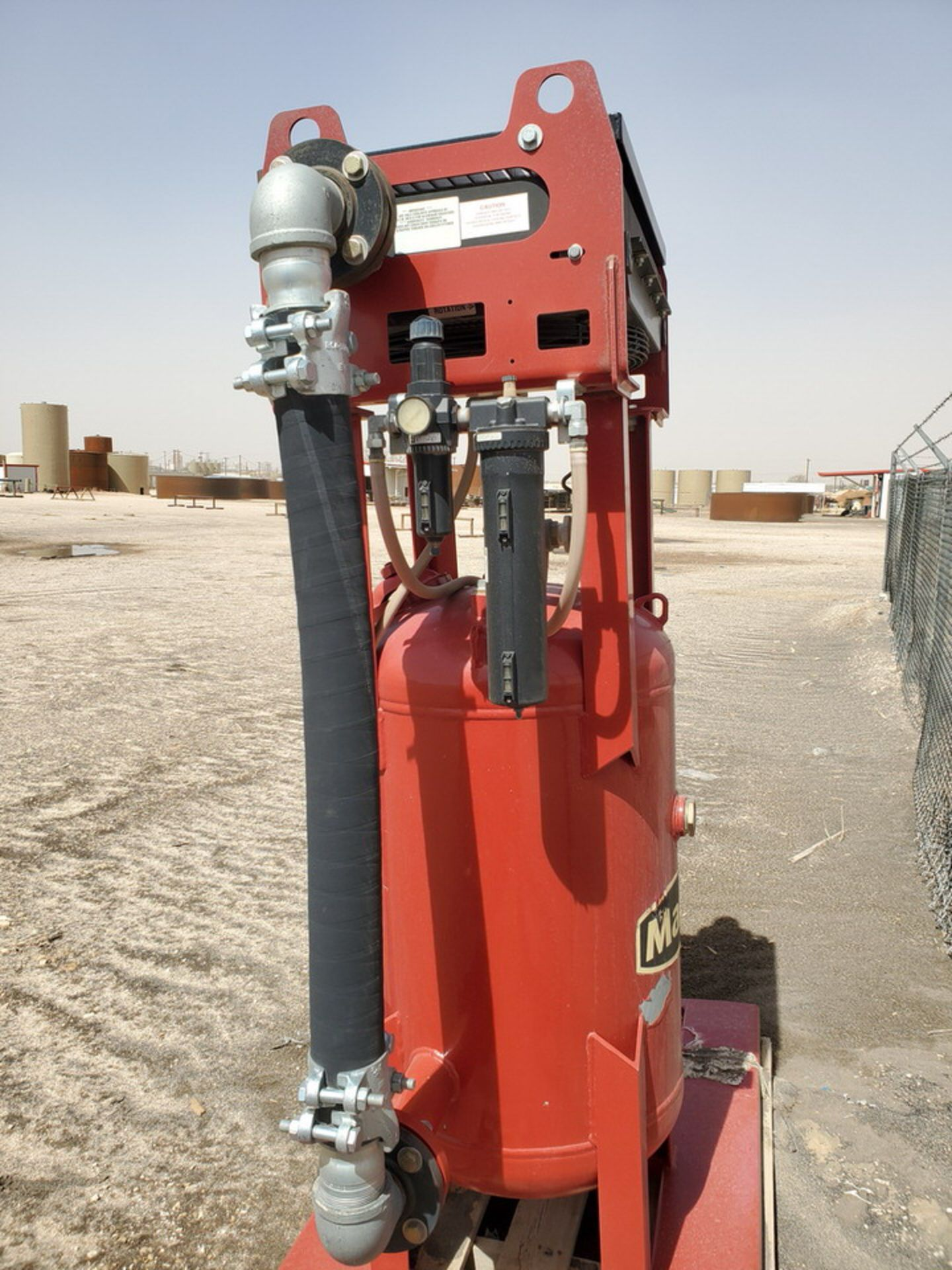 """2017 Marco Air Dryer 150psi@250F, -20@150psi, Vessel Dims: 30"""" Seam To Seam; Overall Dims: 72"""" x 35"""" - Image 5 of 11"""