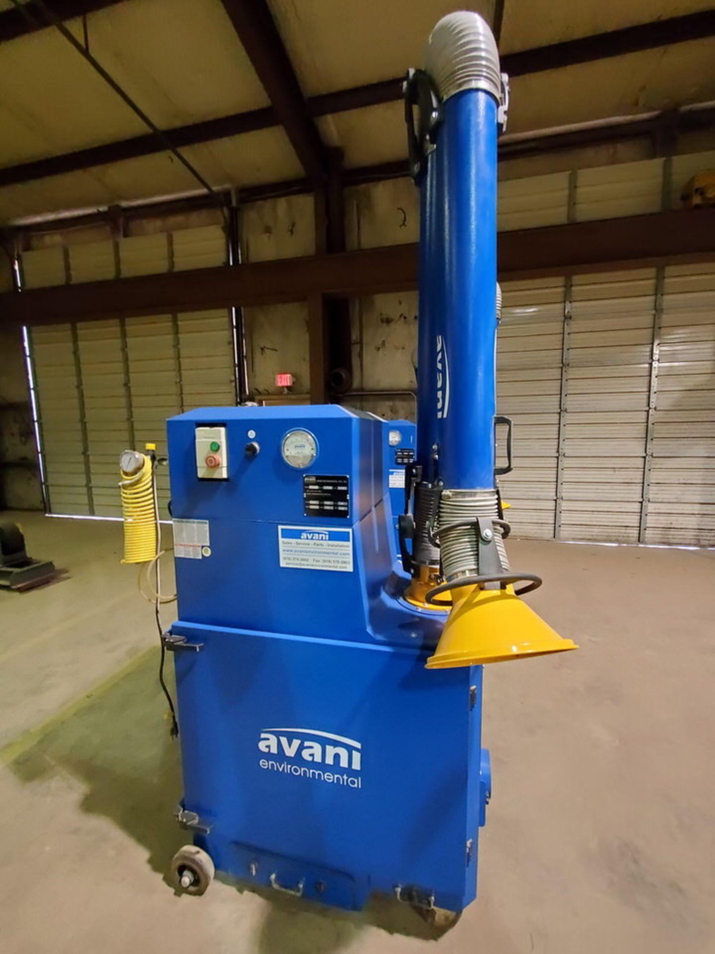 2017 Avanti SPC-2000 Portable Dust Collector 1-1/2HP, 120V, 60HZ, 1PH, 14A, 3450RPM - Image 5 of 7