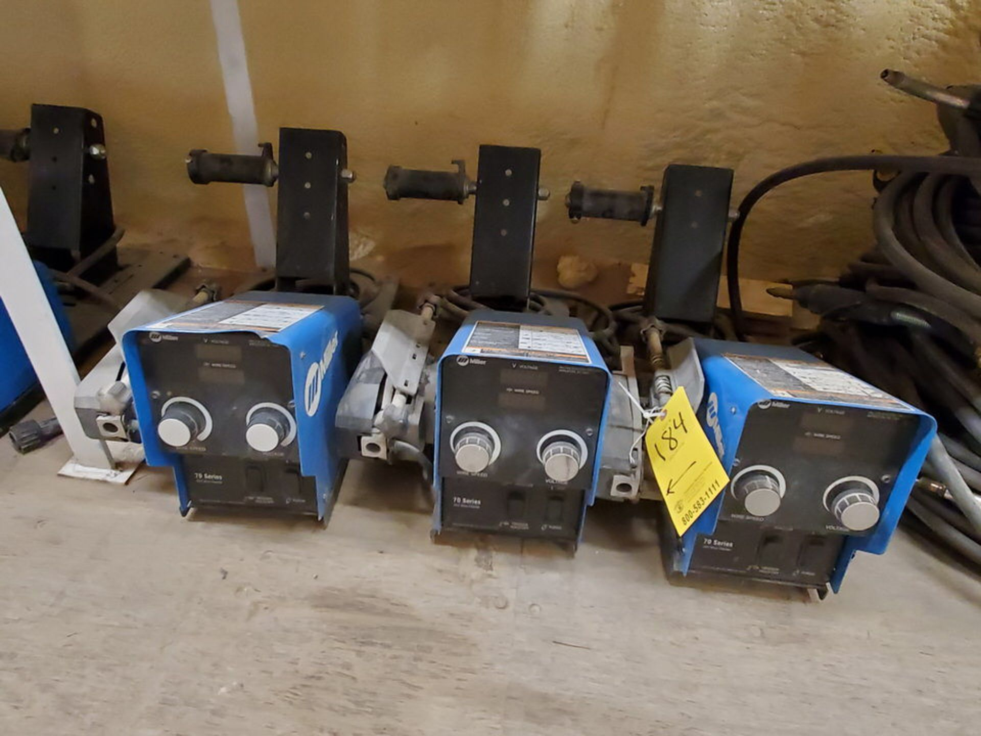 Miller 70 Series (9) 24V Wire Feeders W/ (1) 22A 24V Wire Feeder - Image 3 of 6