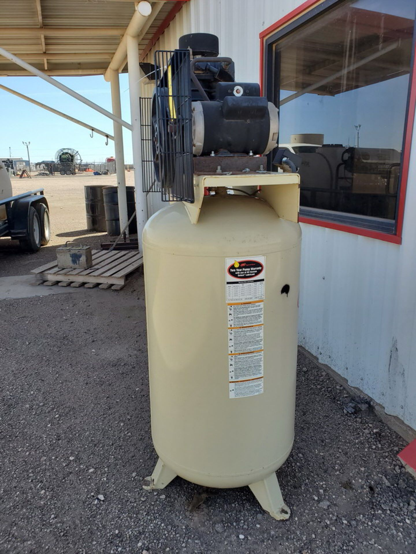 IR TS4N5 Air Compressor 230V, 1PH, 60HZ, MAWP-175psi - Image 2 of 9