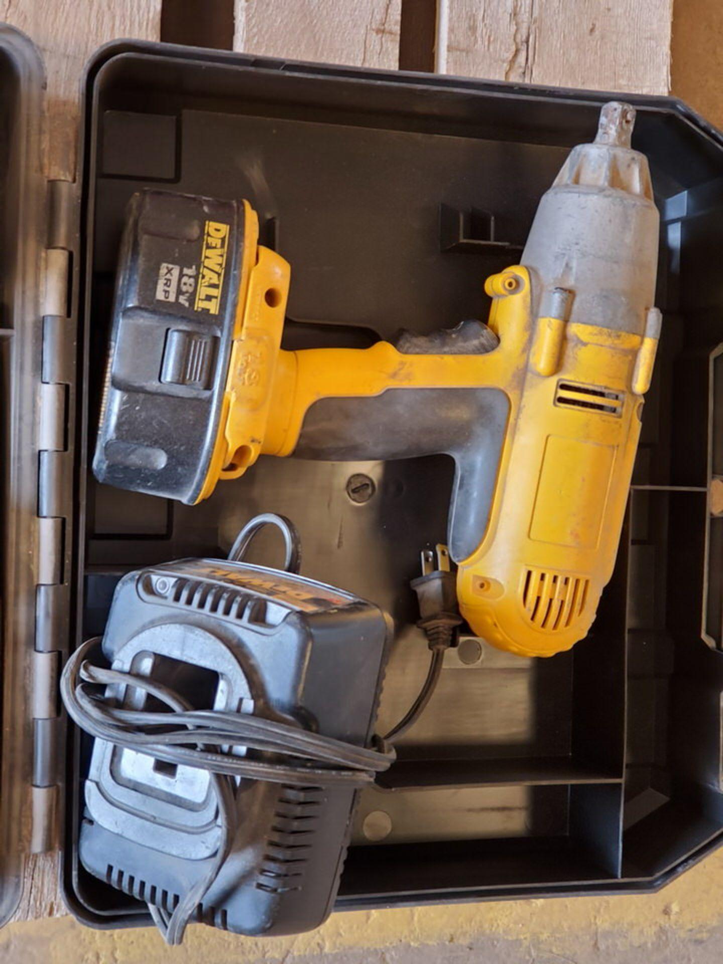 "Dewalt (2) 1/2"" Cordless Impact Wrenches 120V, 18V - Image 3 of 4"