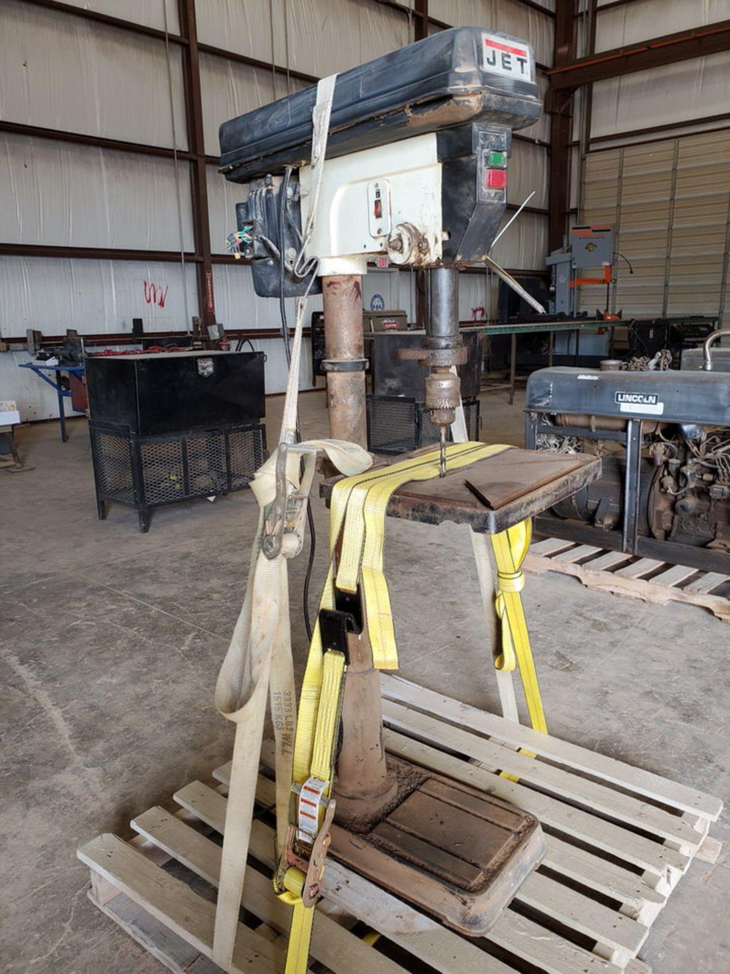 """JDP-20MF 20"""" Drill Press 115/230V, 1-1/2HP, 1720RPM, 1"""" Drilling Cap.; 16"""" x 18"""" Work Table"""