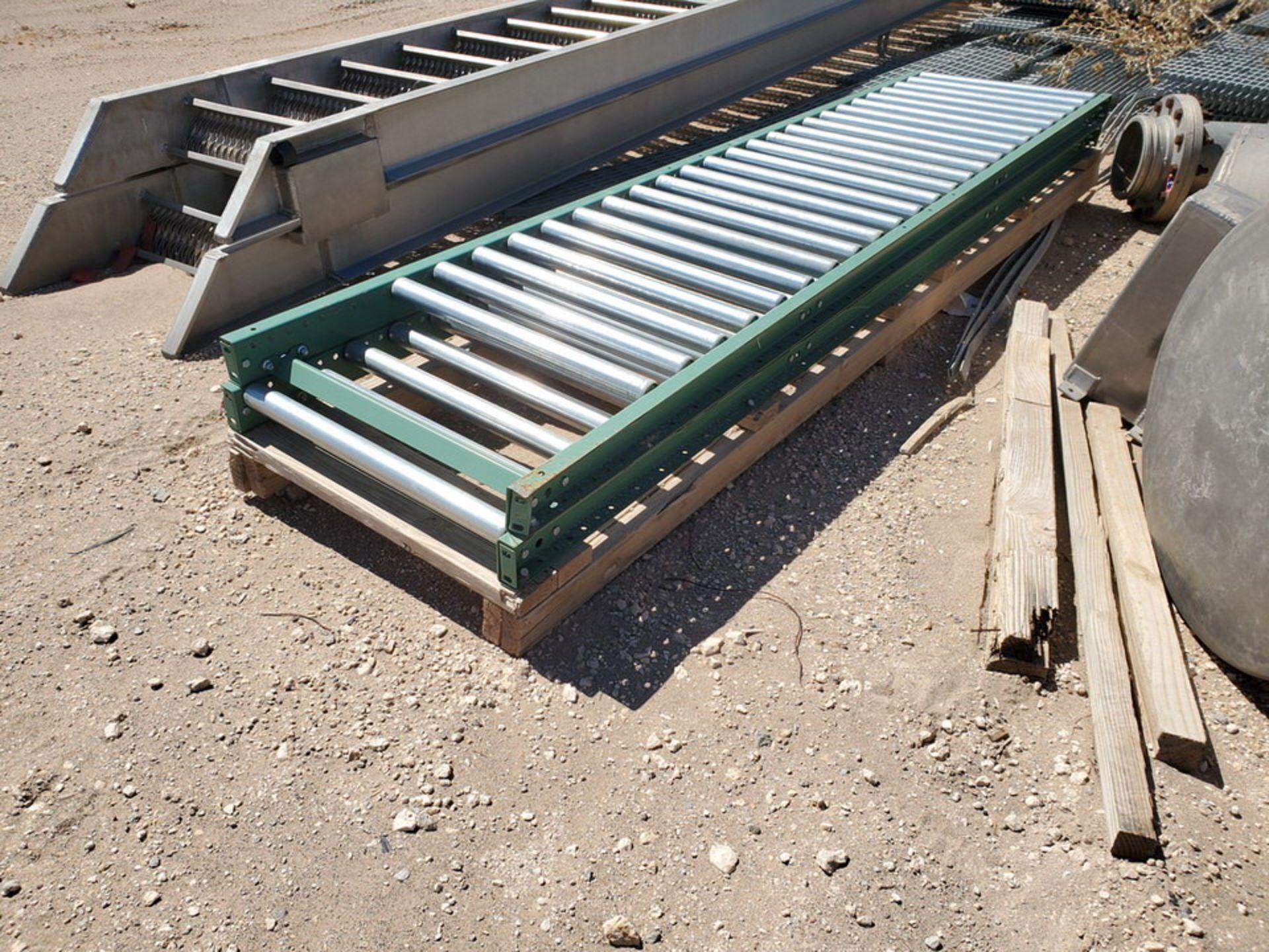 Grating Size Range: 1' - 3'W, 6' - 20'L; W/ Rolling Conveyor - Image 12 of 12