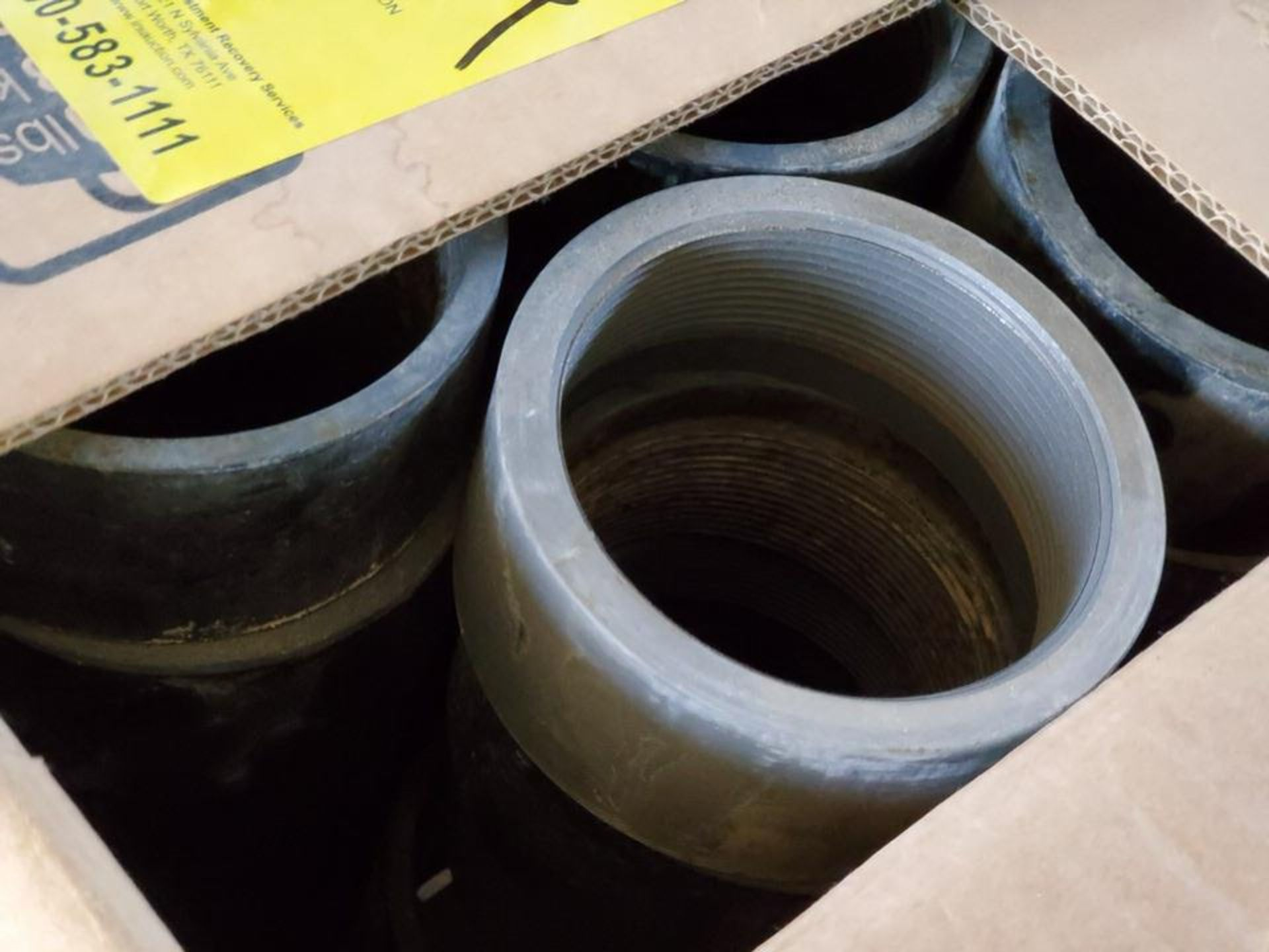 Assorted Material To Include But Not Limited To: Studs, Nuts, Couplings, S/S Nipples, Size Range: - Image 2 of 8