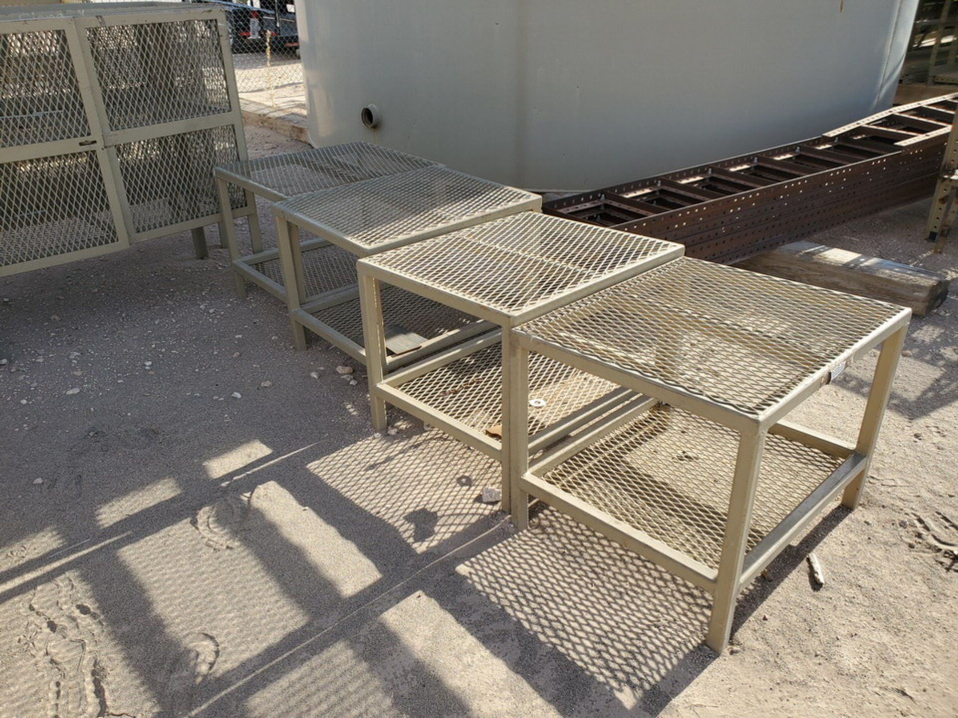 "Assorted Stl Matl. Racks & Ladders Size Range: 30"" x 26"" x 25""H - 29"" x 48"" x 50""H - Image 5 of 18"