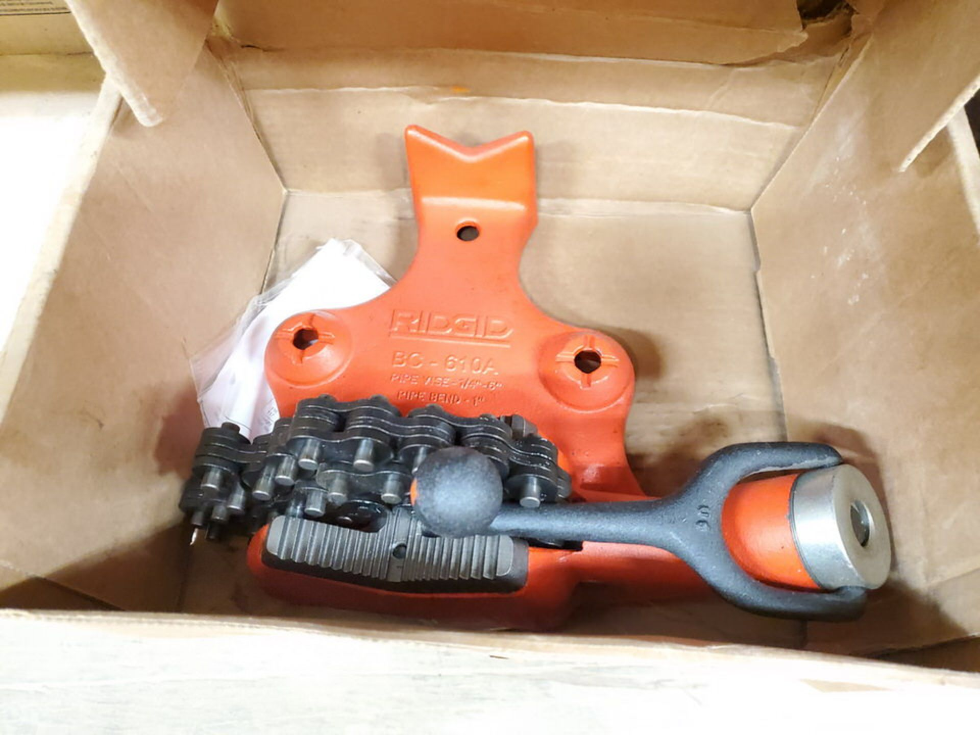 """Ridgid BC-610A (2) 1/4""""- 6"""" Pipe Vises 1"""" Pipe Bend - Image 2 of 5"""