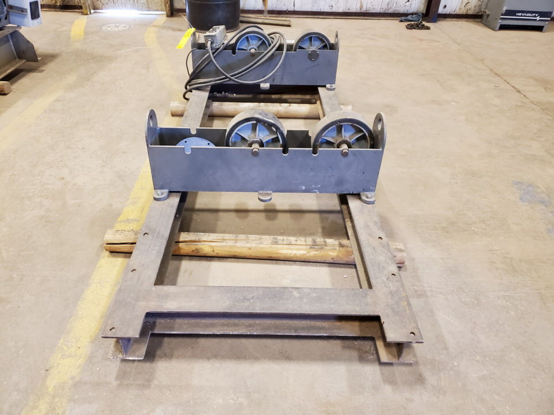 "Profax TR-5000 Turn Roll 2500 Cap., 115V, 10A, 50/60HZ, 1PH, RPM: 0.5-5; 3"" Wheel Dia.; Skid Dims: - Image 5 of 9"