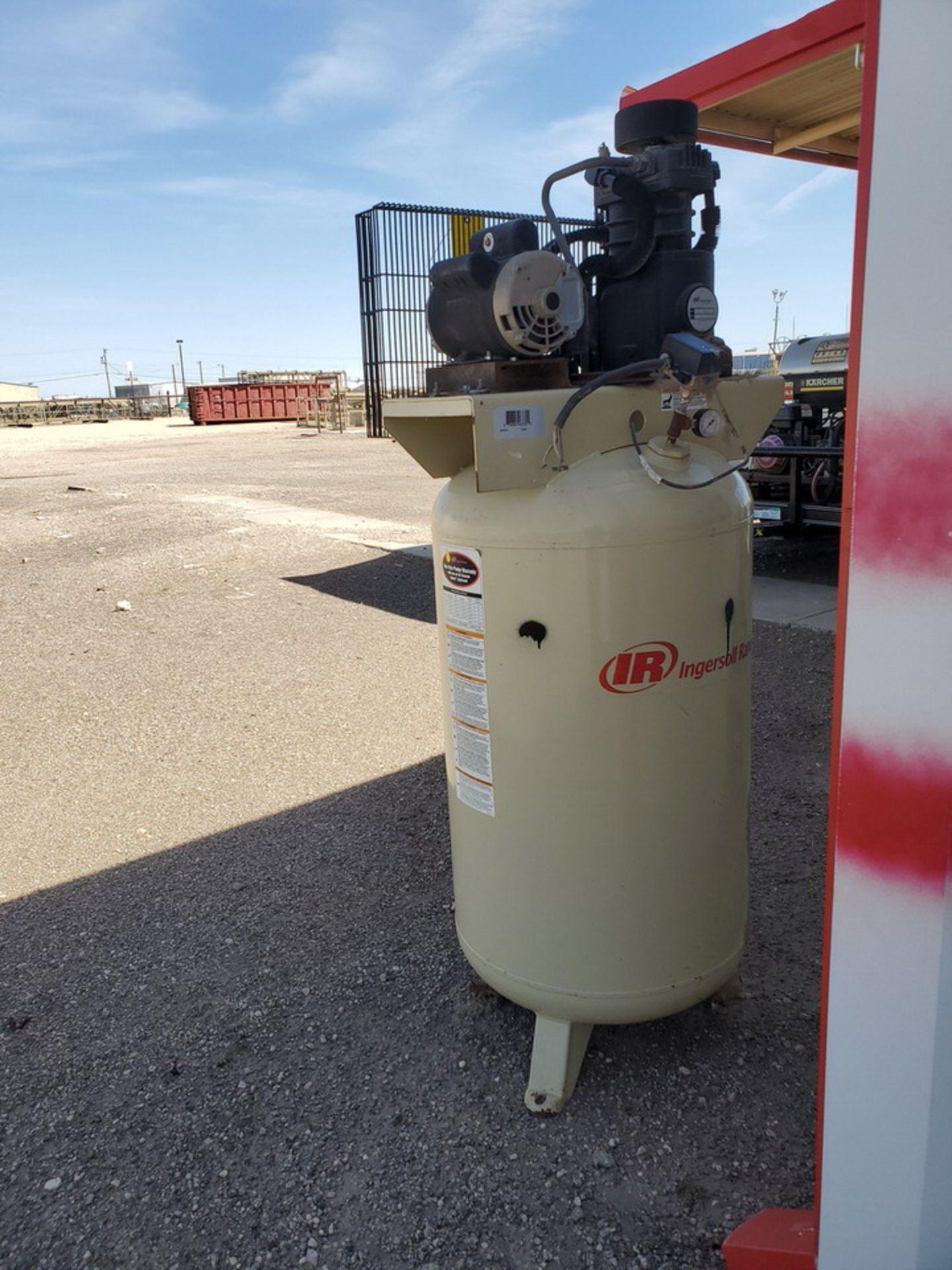 IR TS4N5 Air Compressor 230V, 1PH, 60HZ, MAWP-175psi