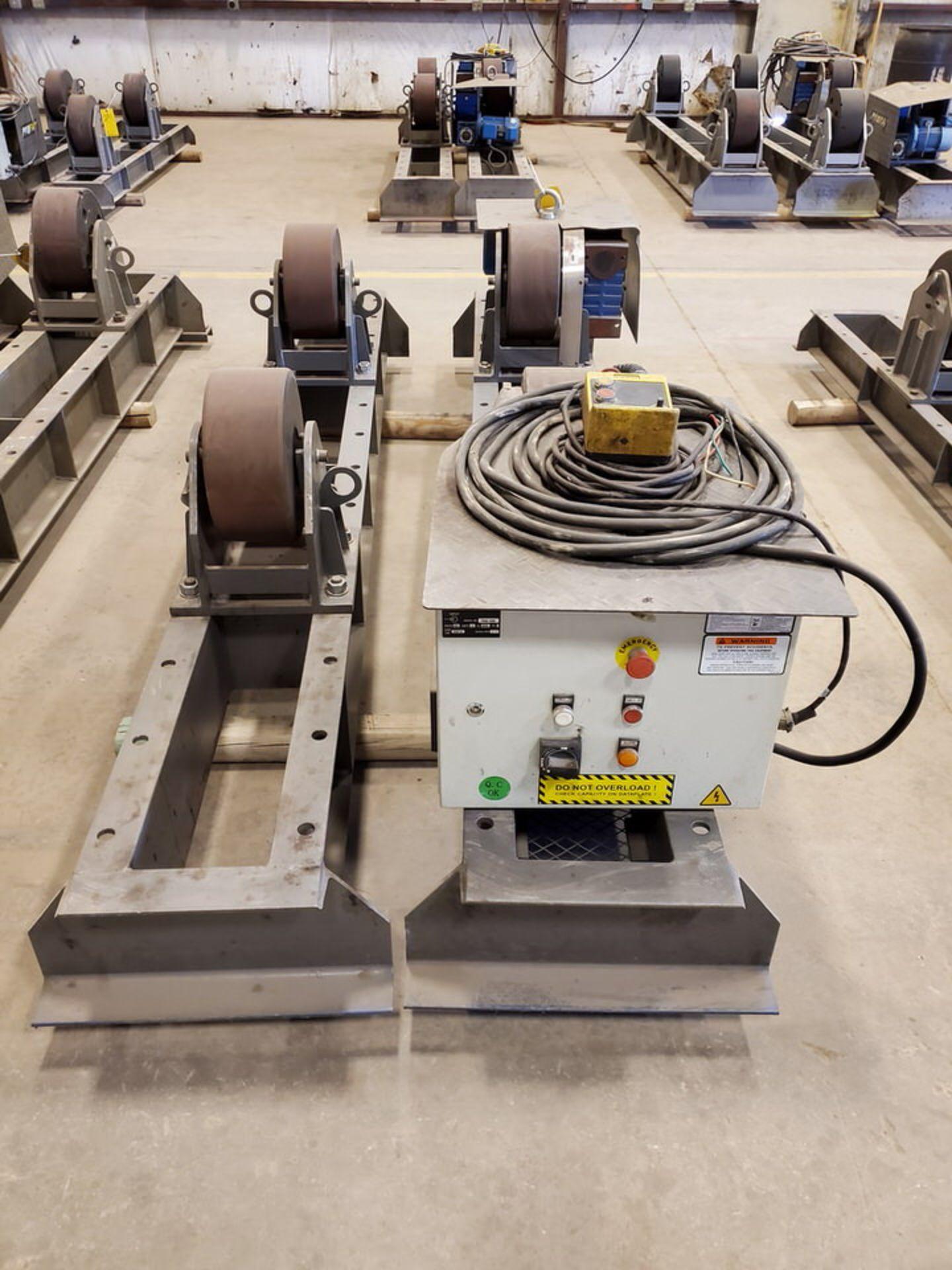 "Profax TR-40000 Turn Roll 40K Cap., 440V, 15A, 50/60HZ, 3PH, RPM: 0-1.7, 6"" Wheel Dia - Image 5 of 8"