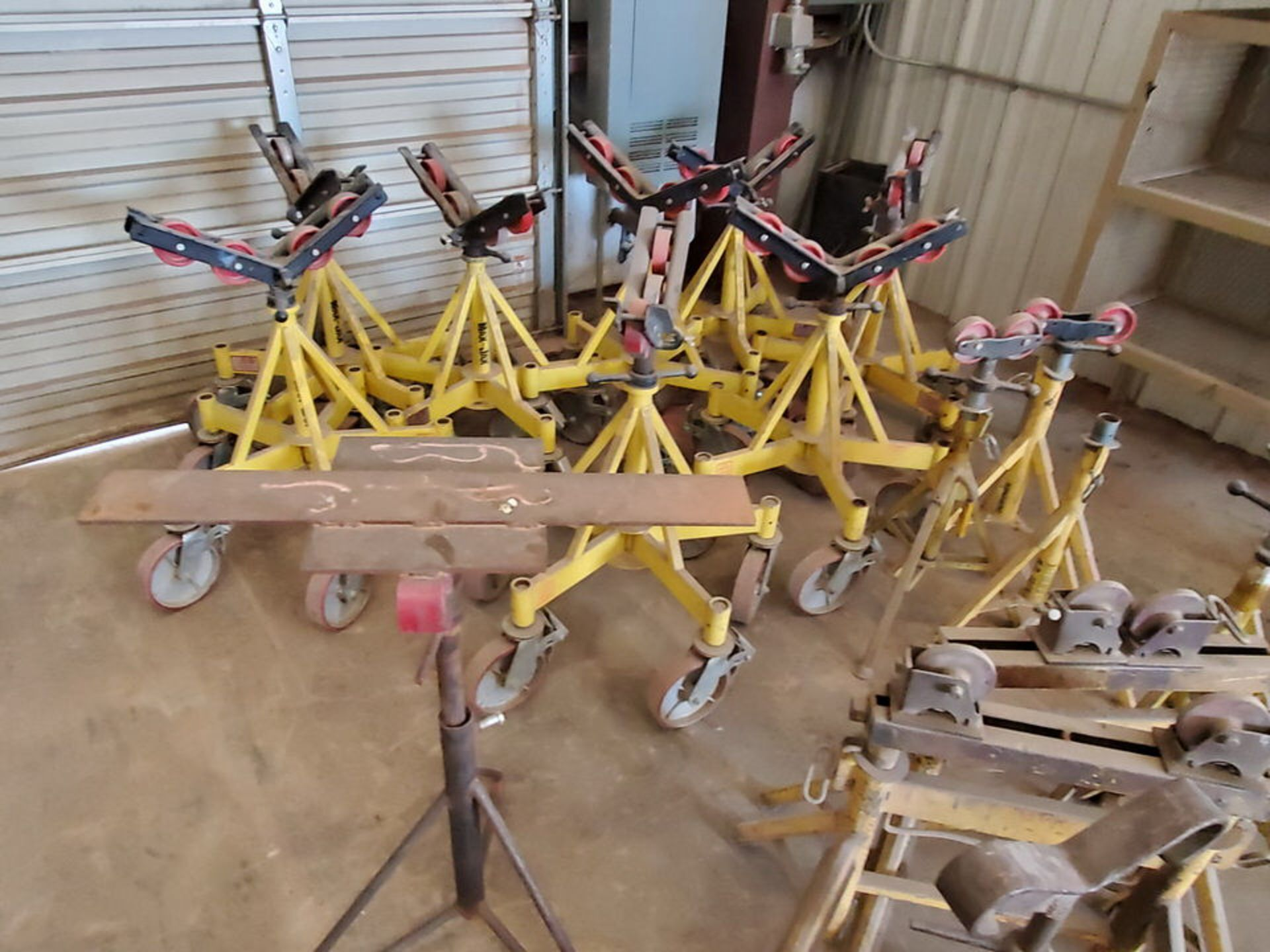 Max & Other (21) Pipe Stands & Rollers 1K-5K Cap. - Image 3 of 6