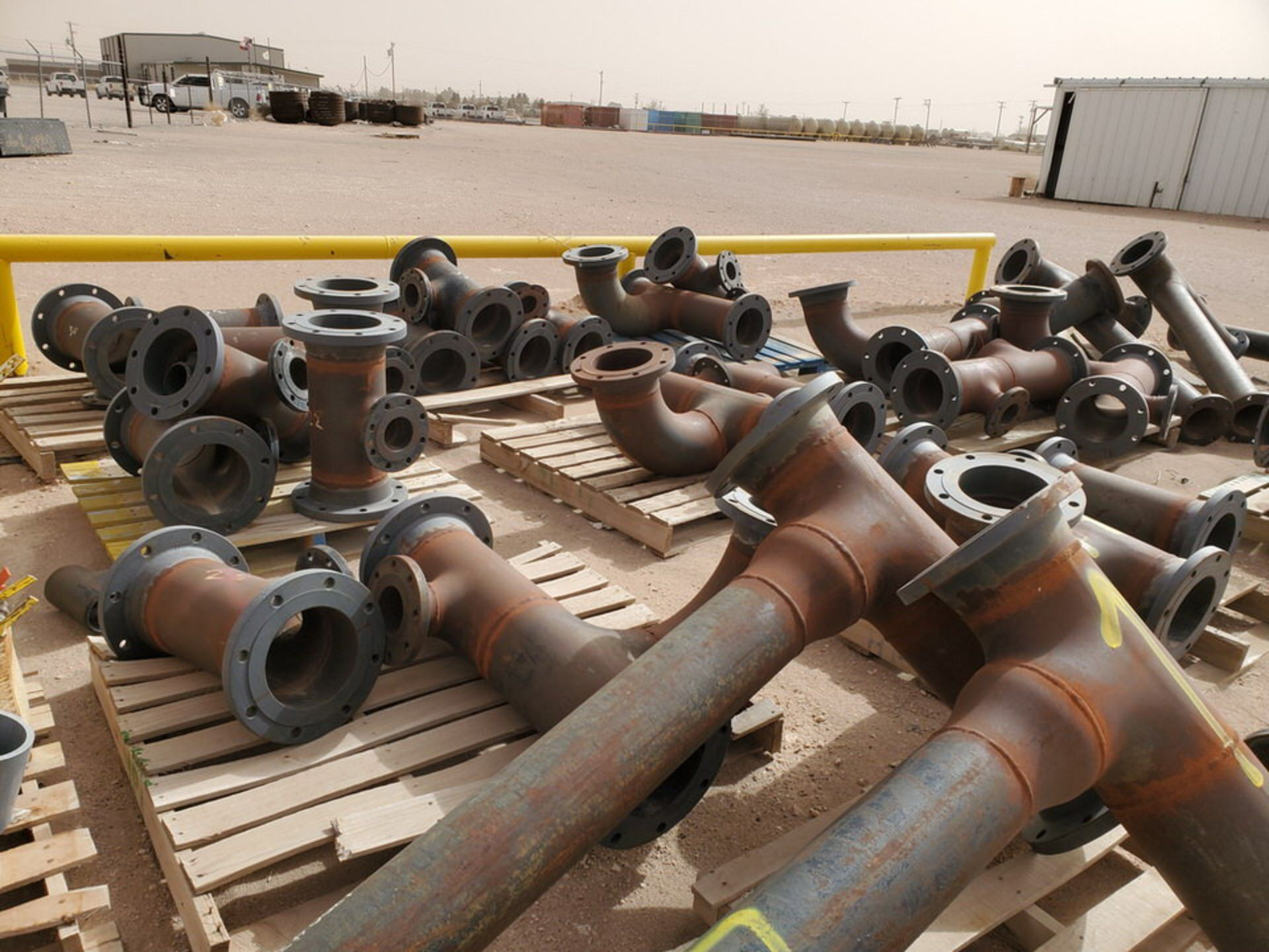 """(29) Flanged Pipe 22"""" - 82""""L - Image 3 of 15"""