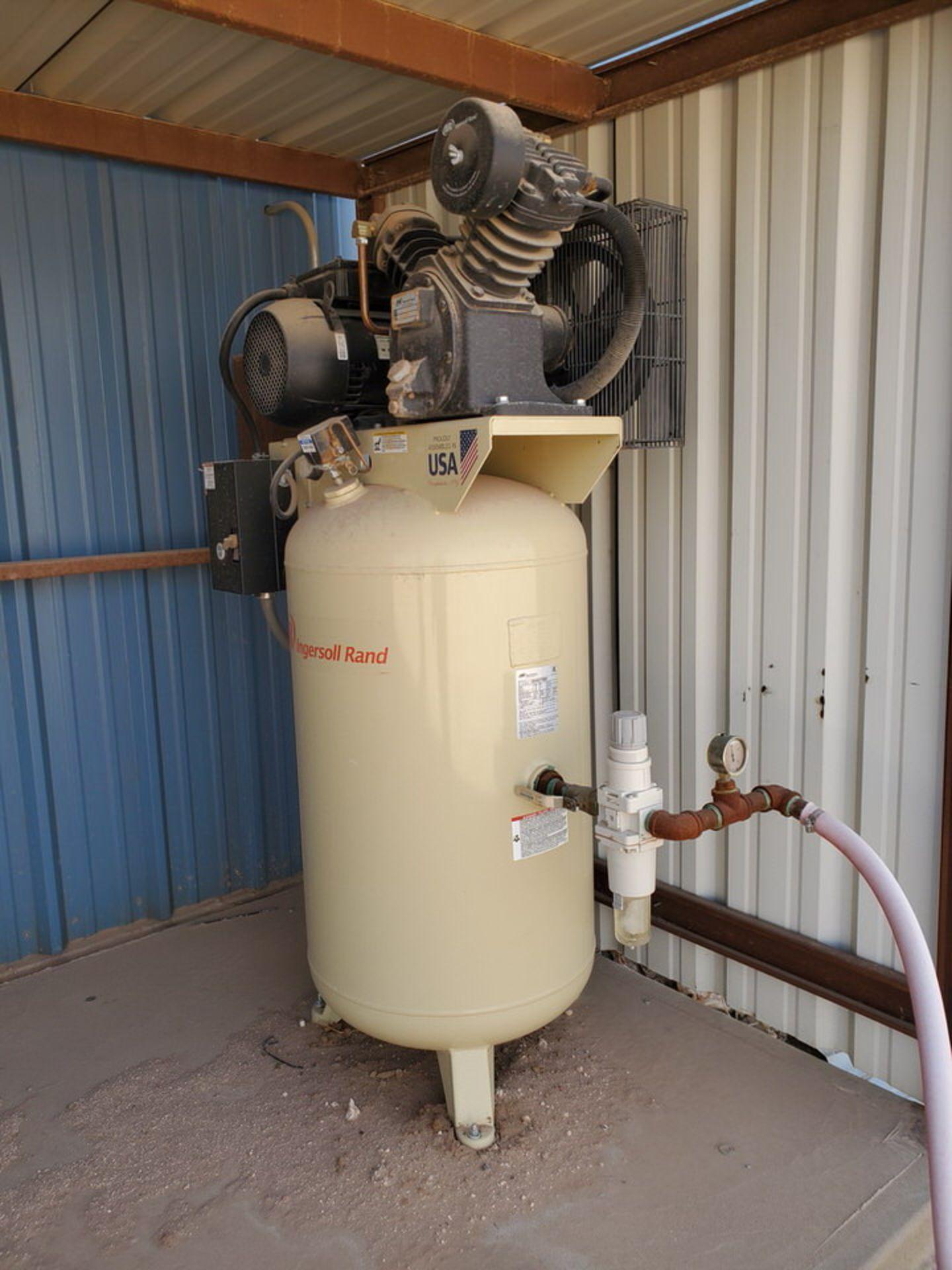 IR Air Compressor 230V, 60HZ, 1PH, 175 MAWP