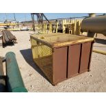 """Material Storage Cage 63"""" x 48"""" x 39"""""""