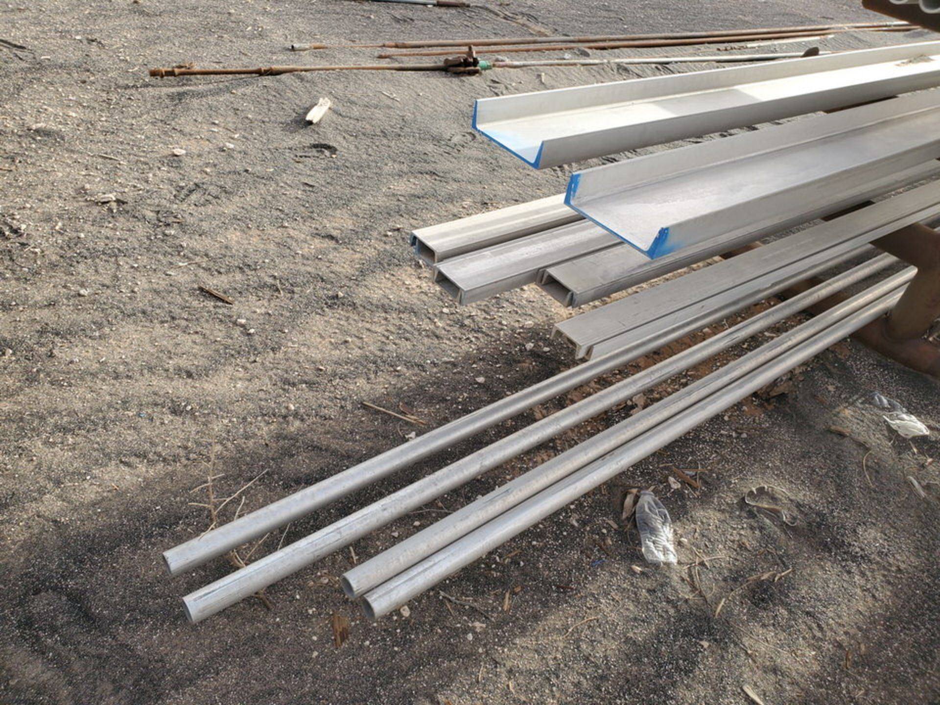 Assorted Matl. To Include But Limited To: S/S Channel, Pipe, Angle, Tubing, Rods, etc.(Rack - Image 16 of 19