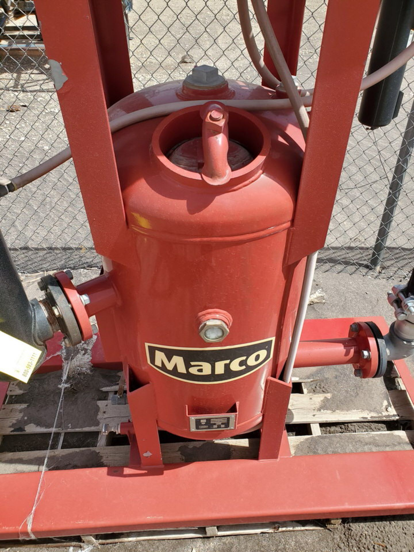 """2017 Marco Air Dryer 150psi@250F, -20@150psi, Vessel Dims: 30"""" Seam To Seam; Overall Dims: 72"""" x 35"""" - Image 10 of 11"""