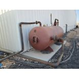 2012 Manchester Air Receiving Tank 4'Dia, 10' S/S; 200psi@400F, -20@200psi