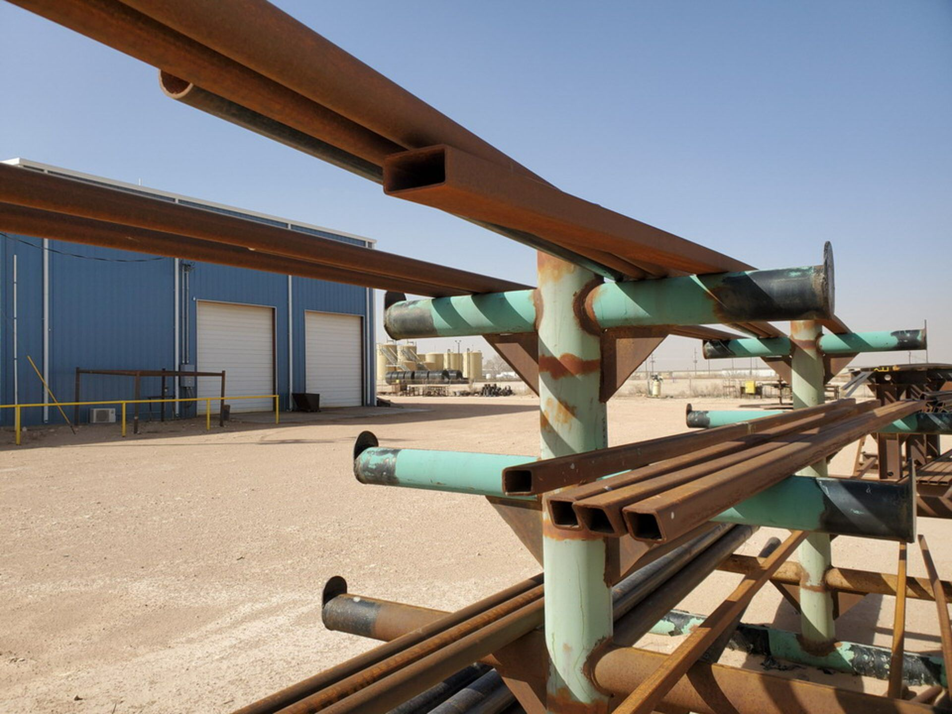 """(25) Pipe, Sq. Tube & Other D: 1-1/2""""-4""""; L: 15'-21'; W/ Racks - Image 14 of 14"""