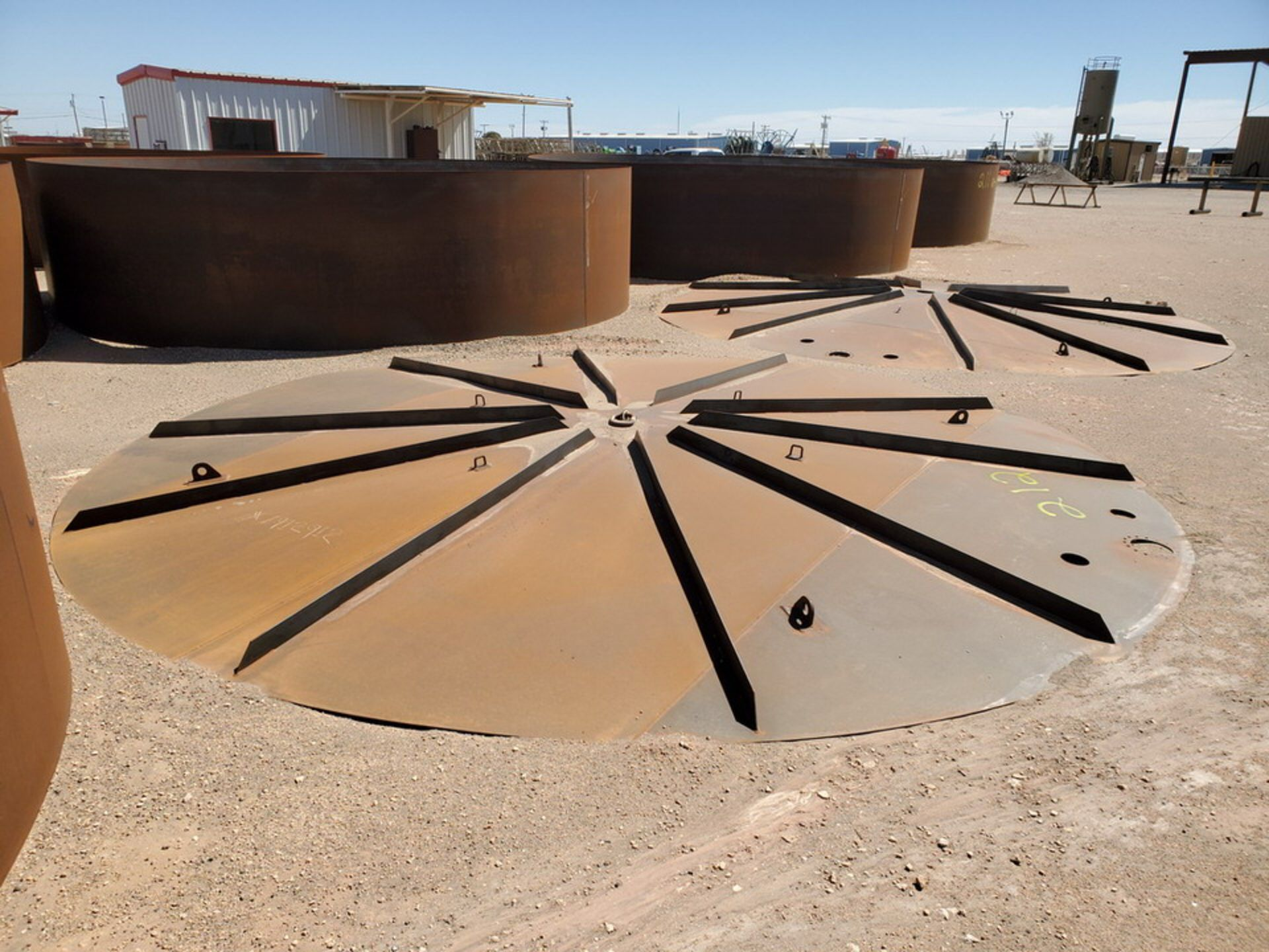 """(2) API Tank Roof Tops 21'8"""" Dia.; (Tank Decks Excluded) - Image 6 of 6"""