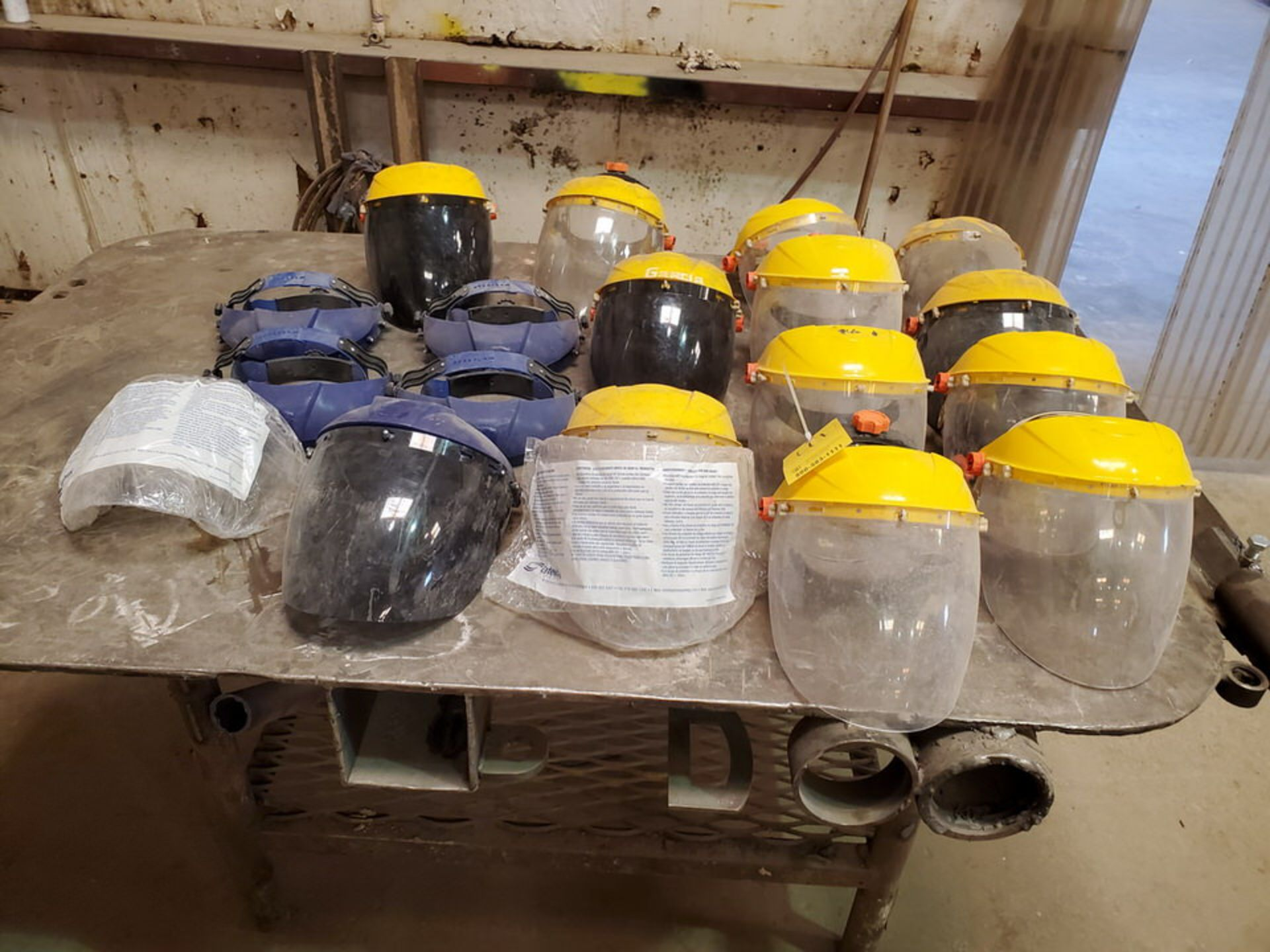 Assorted Welding Face Shields