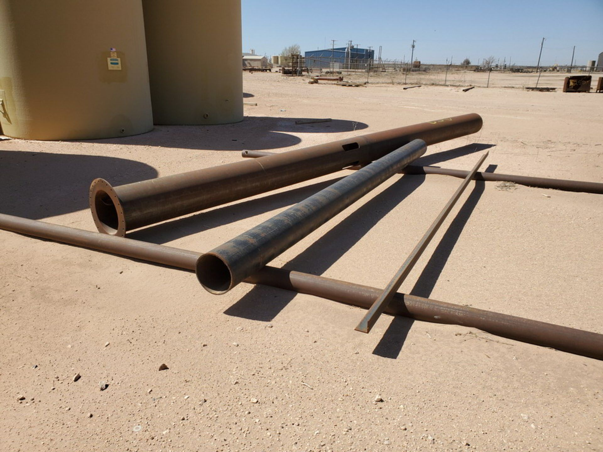 Assorted Stl Material To Include Butg Not Limited To: Pipe, Angle, Sq. Tubing, etc.; Size Range: - Image 9 of 12