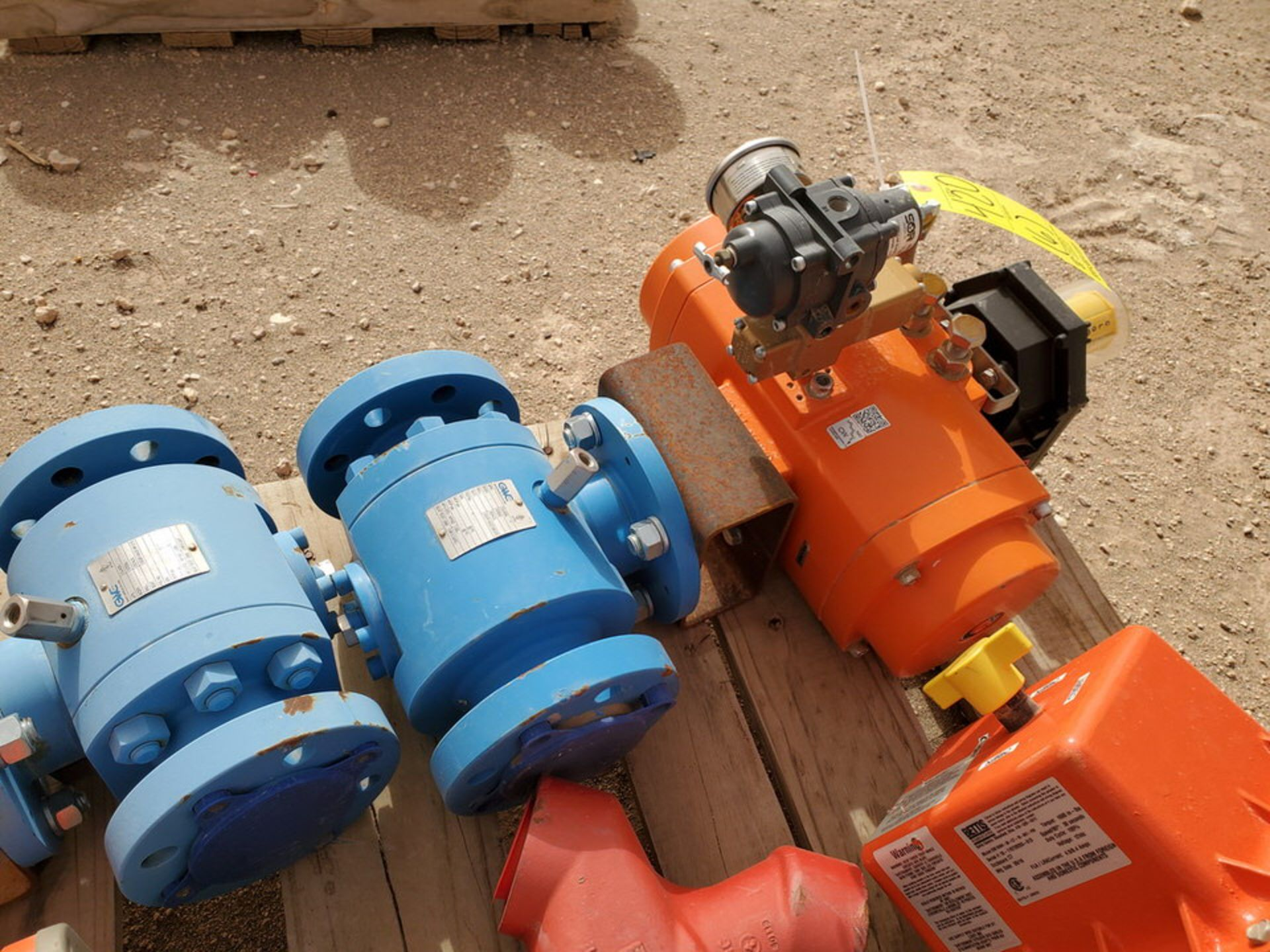 """GWC Assorted Actuated Valves (2) 2"""" x 2"""" 600# Ball Valves W/ Bettis Actuators; W/ (4) Taylor 2"""" 600# - Image 8 of 9"""