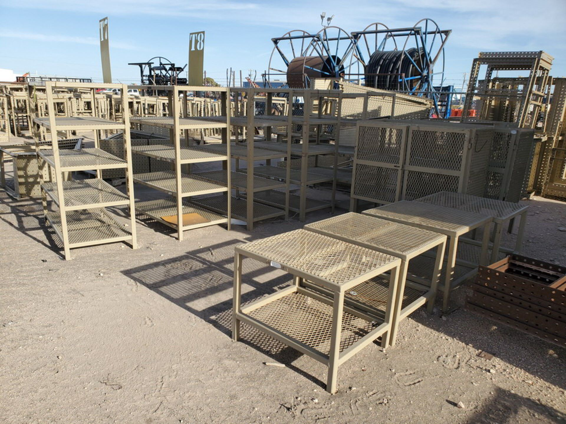 "Assorted Stl Matl. Racks & Ladders Size Range: 30"" x 26"" x 25""H - 29"" x 48"" x 50""H - Image 11 of 18"