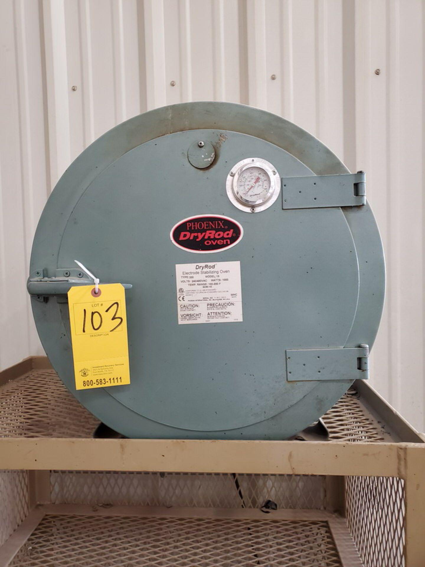 Phoenix 15 Dry Rod Oven 240/480V, 1,000W, 50/60HZ, Temp Range: 100-550F - Image 2 of 4