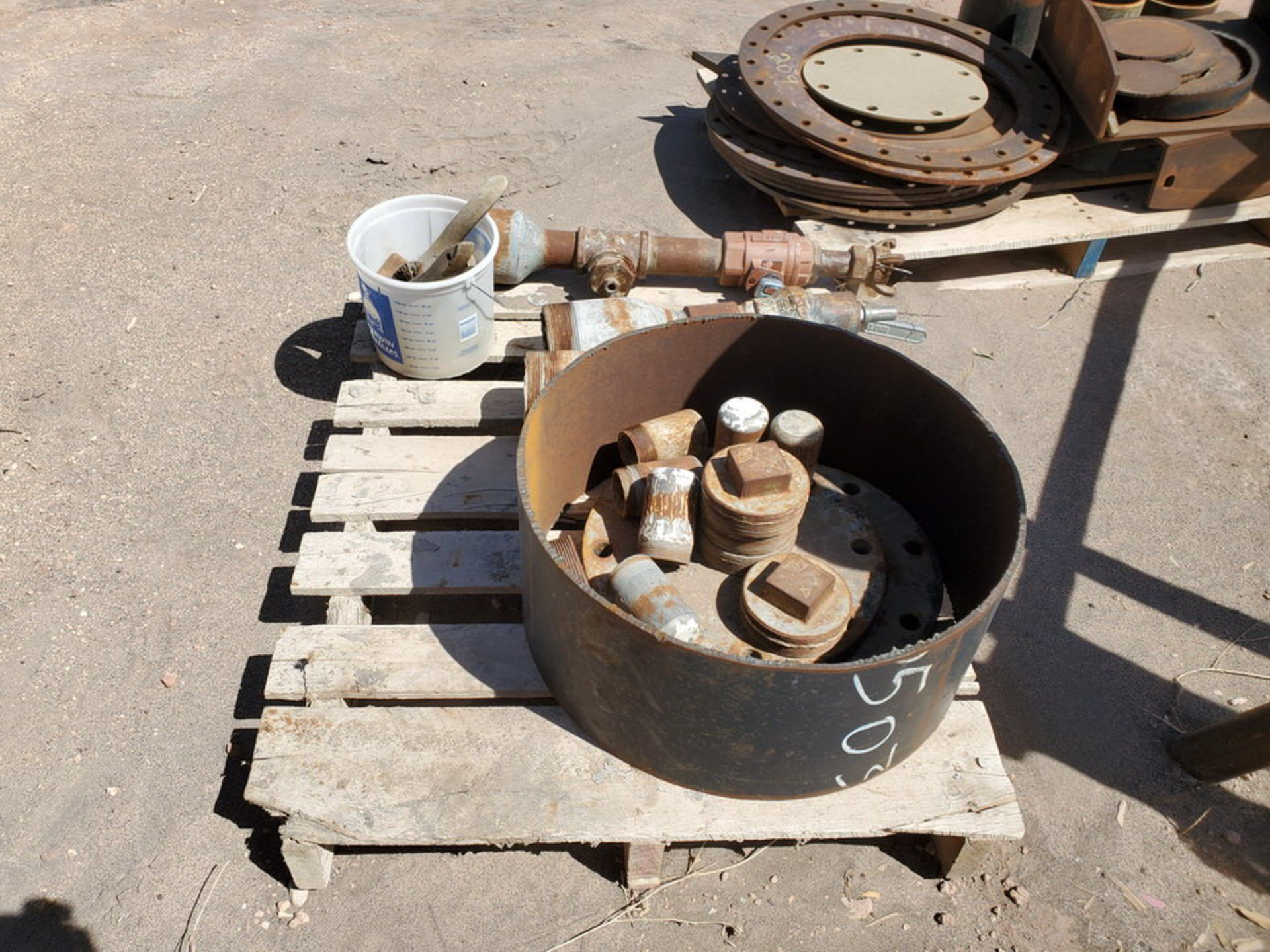 Assorted Fittings To Include But Not Limited To: Assorted Flanges, Caps, Couplings, etc.; Size - Image 10 of 14
