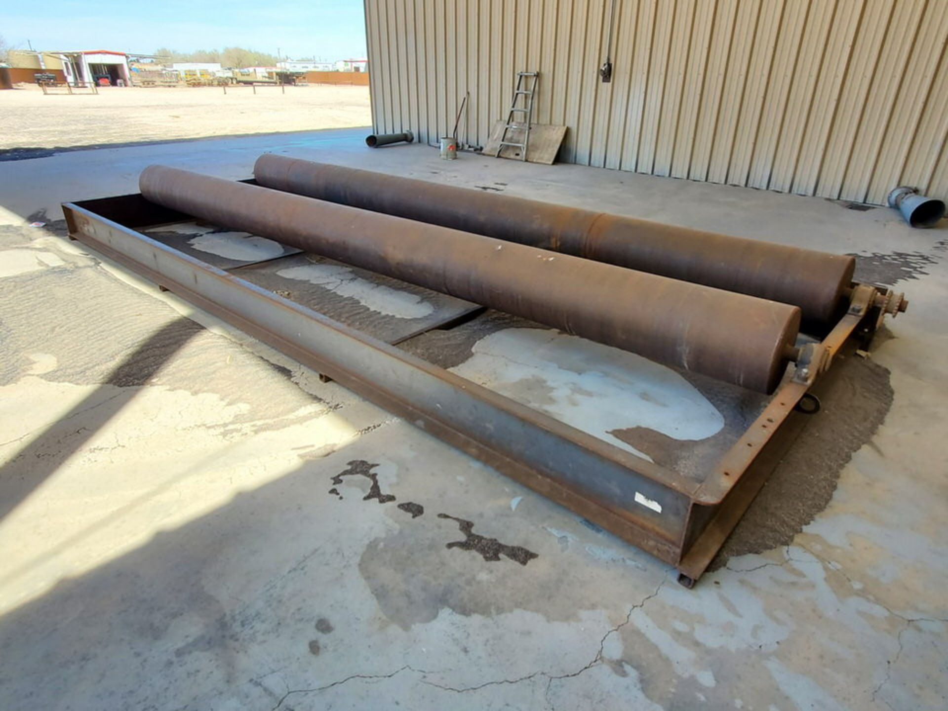 """Turn Roll 8' x 20'6"""", 16"""" O.D. Rolls, 1' Base; Overall Dims: 9'8""""W - Image 7 of 8"""