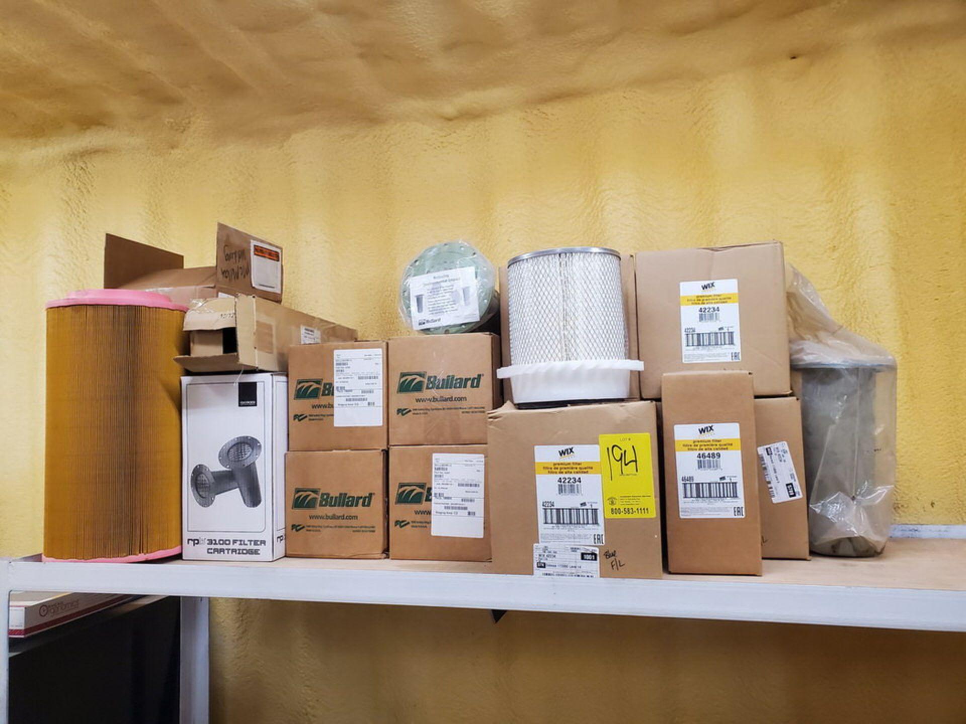 Assorted Filters Mfg's: Bullard, Wix & Other