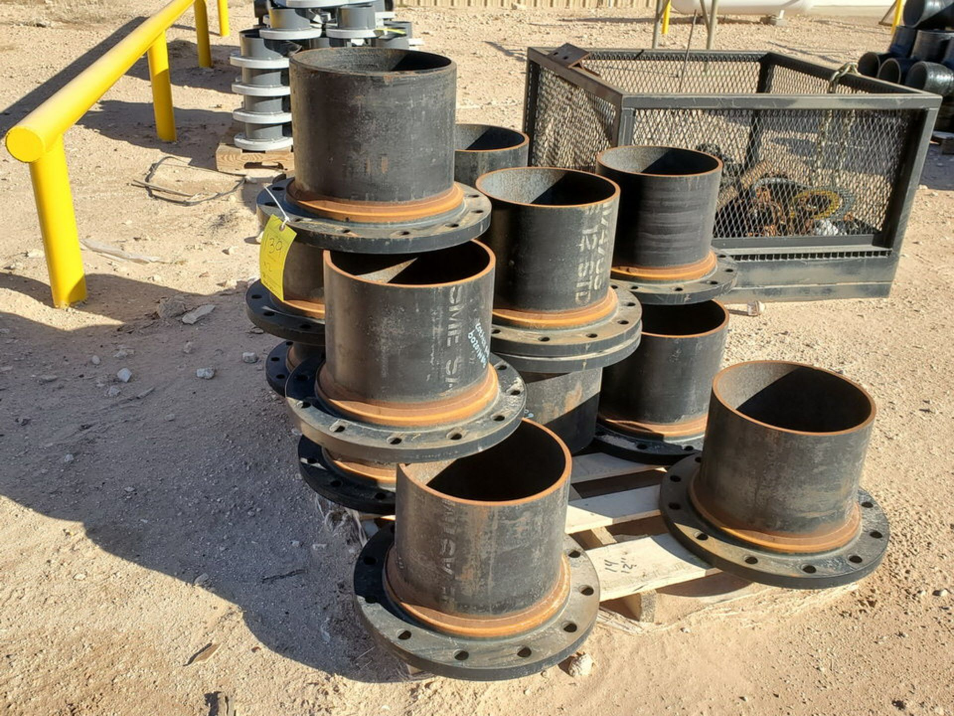 "(24) 12"" Stl Flanged Pipe 150# A/SA105 - Image 4 of 5"