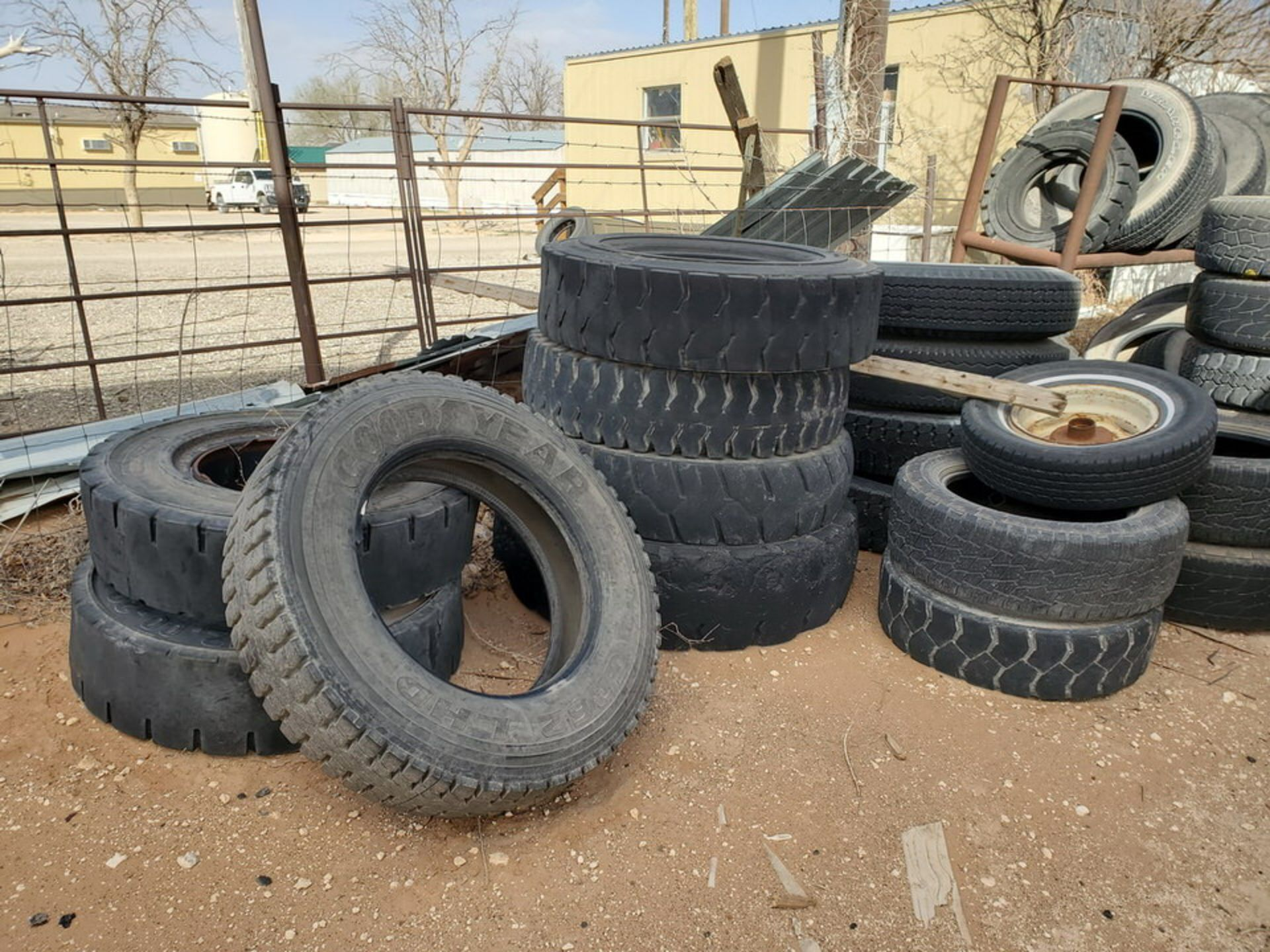 Assorted Tires W/ Rack - Image 7 of 9