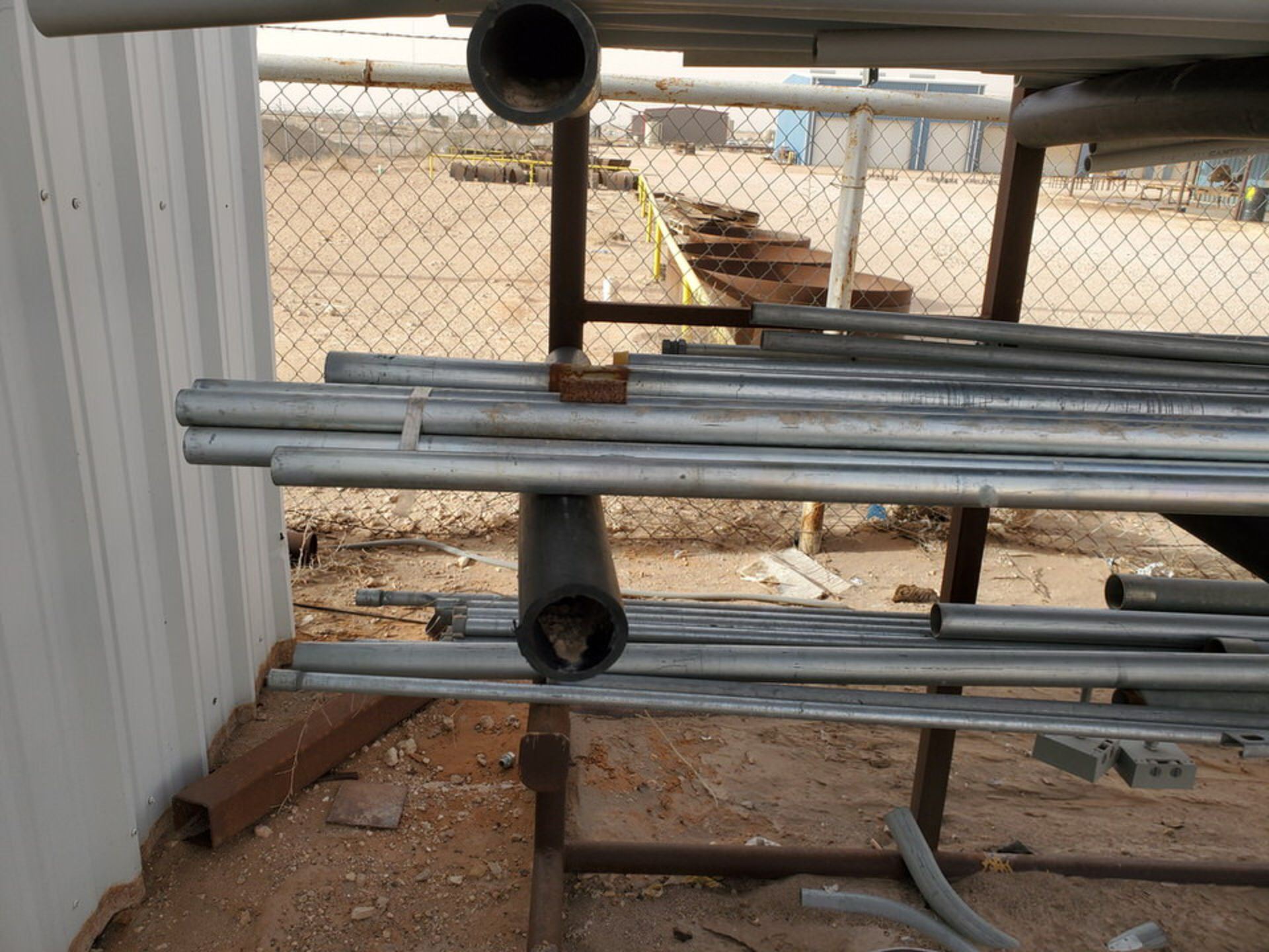 "PVC & Alum. Pipe W/ Conduit Size Range: 1/2"" - 4"" W/ Rack - Image 15 of 18"