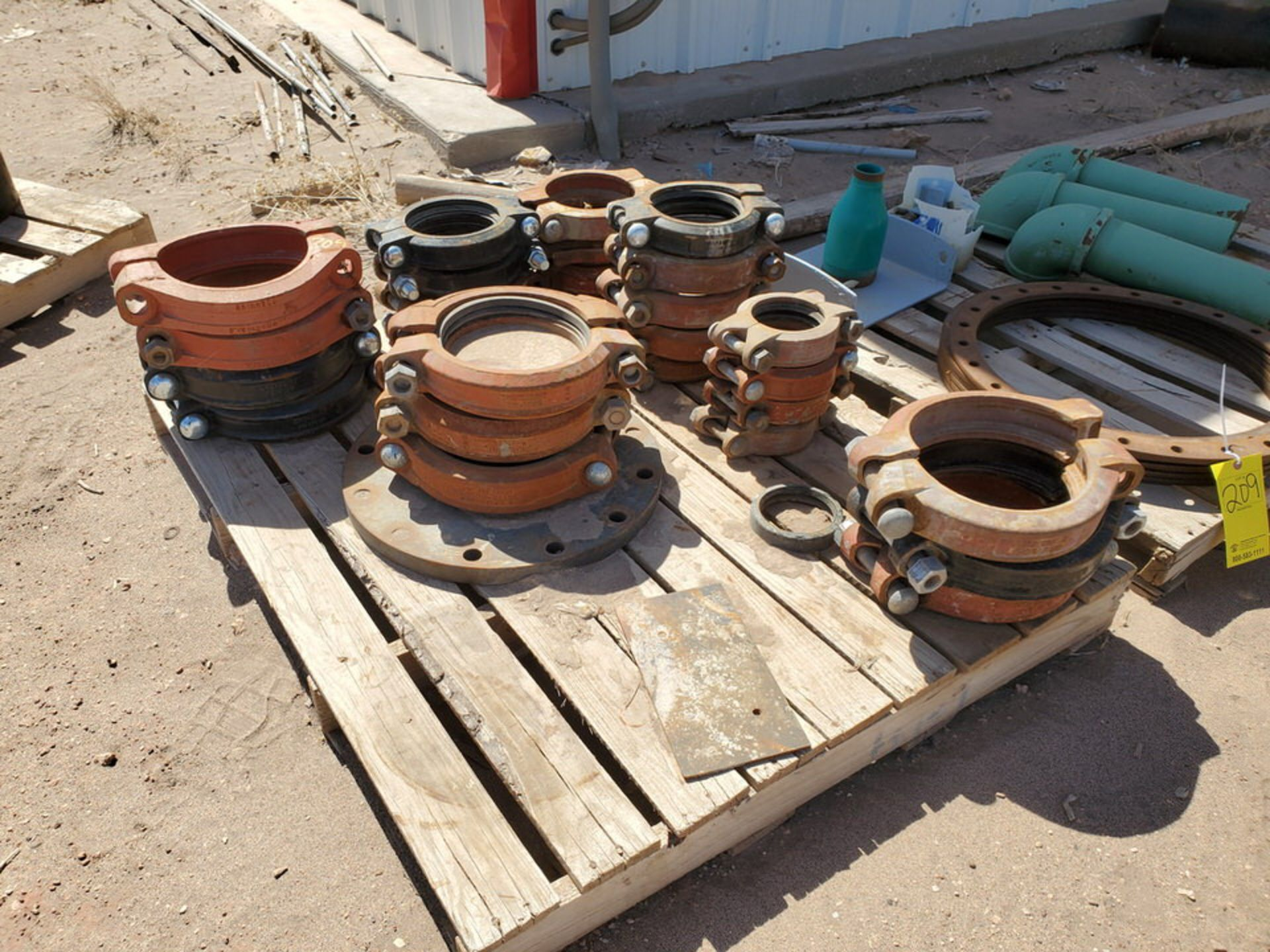 Assorted Fittings To Include But Not Limited To: Assorted Flanges, Caps, Couplings, etc.; Size - Image 8 of 14