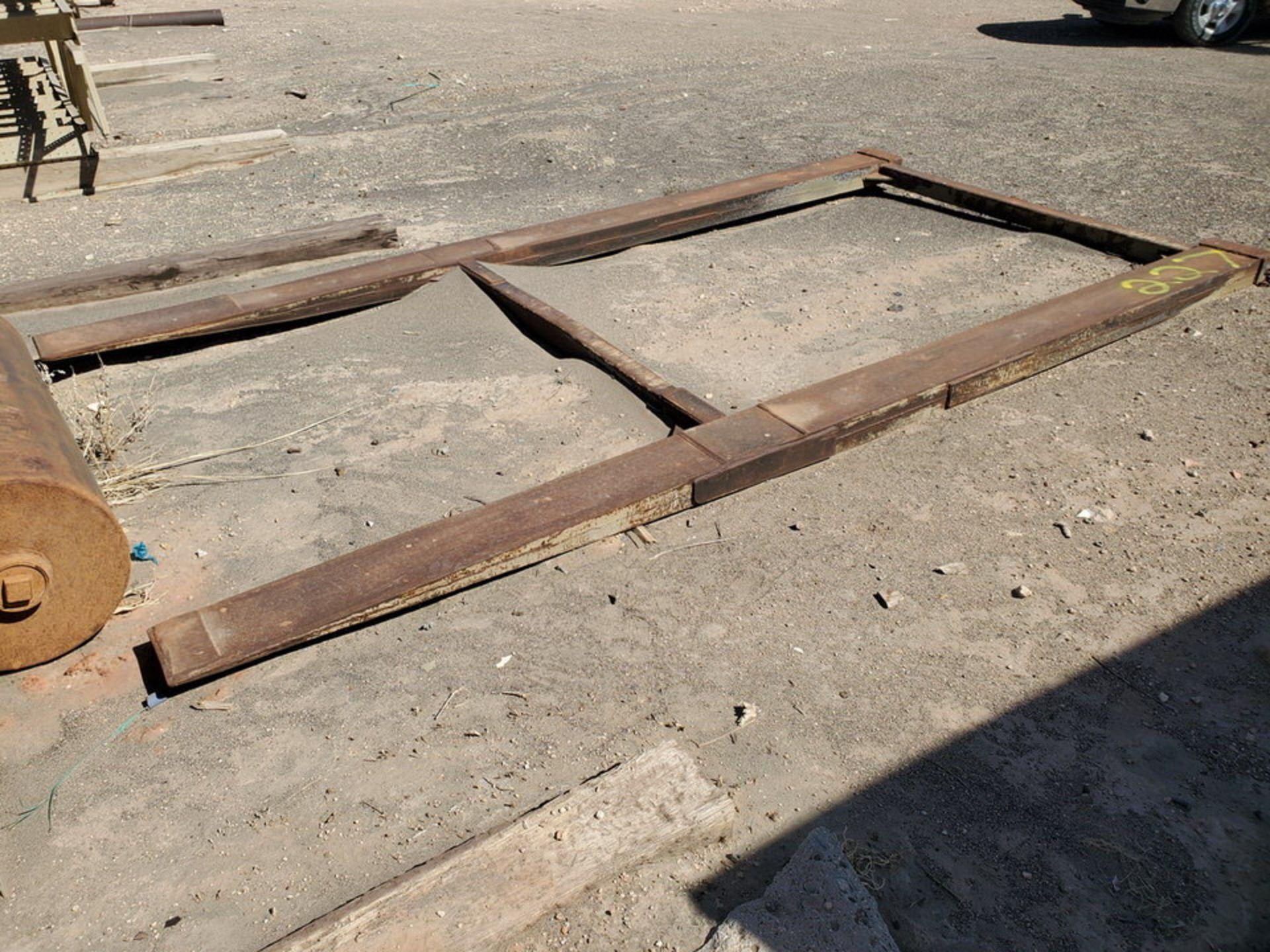 """Forklift Attechment 15'8"""" x 7'11"""", 9-1/2"""" Forks I.D. - Image 7 of 8"""