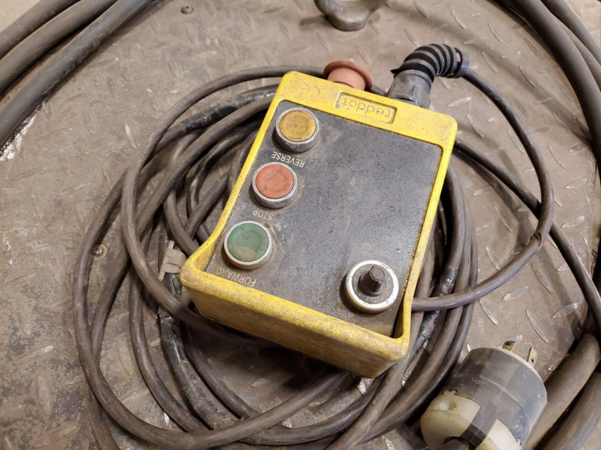 "Profax TR-40000 Turn Roll 20H Cap., 440V, 15A, 50/60HZ, 3PH, RPM: 0-1.7, 6"" Wheel Dia. - Image 7 of 8"