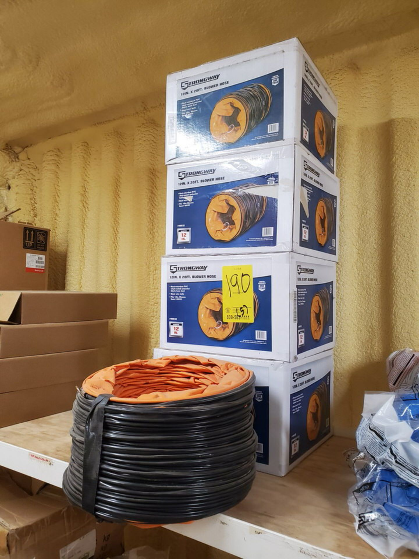"""Strongway 12"""" x 20' Blower Hoses - Image 2 of 4"""