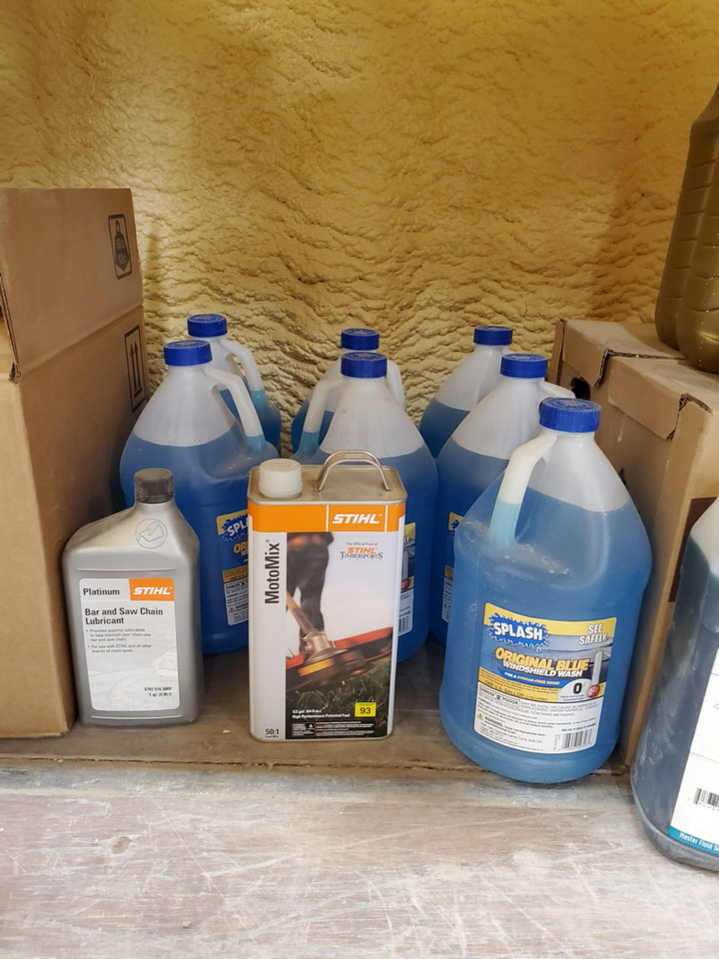 Assorted Lubricants & Fluids To Include But Not Limited To: Shell Corena Synthetic Rotary Air - Image 7 of 17