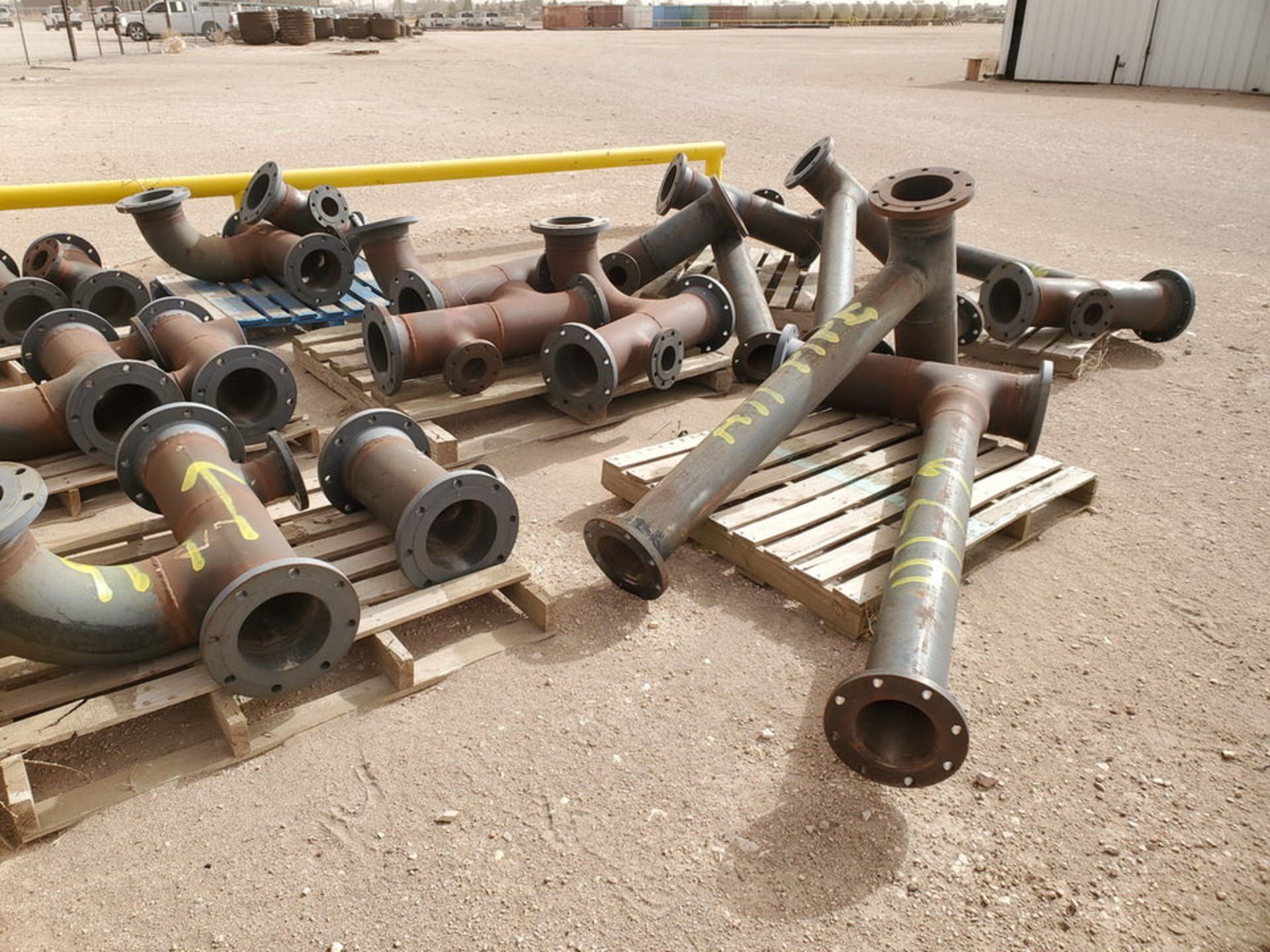 """(29) Flanged Pipe 22"""" - 82""""L - Image 15 of 15"""